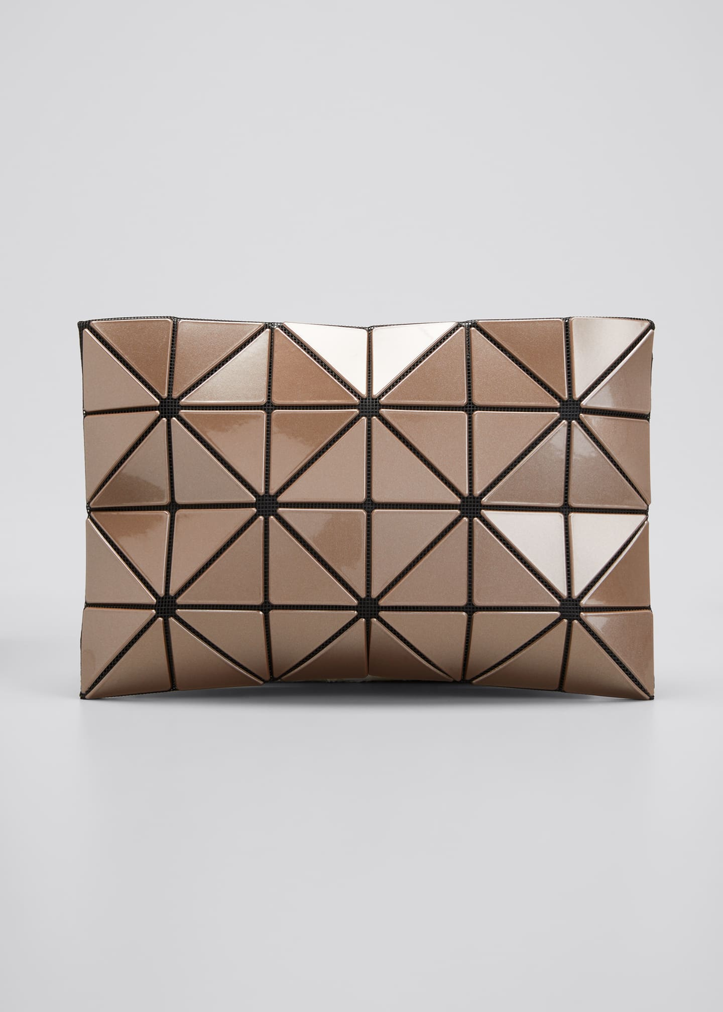 Image 1 of 5: Lucent Metallic Geo Tile Clutch Bag