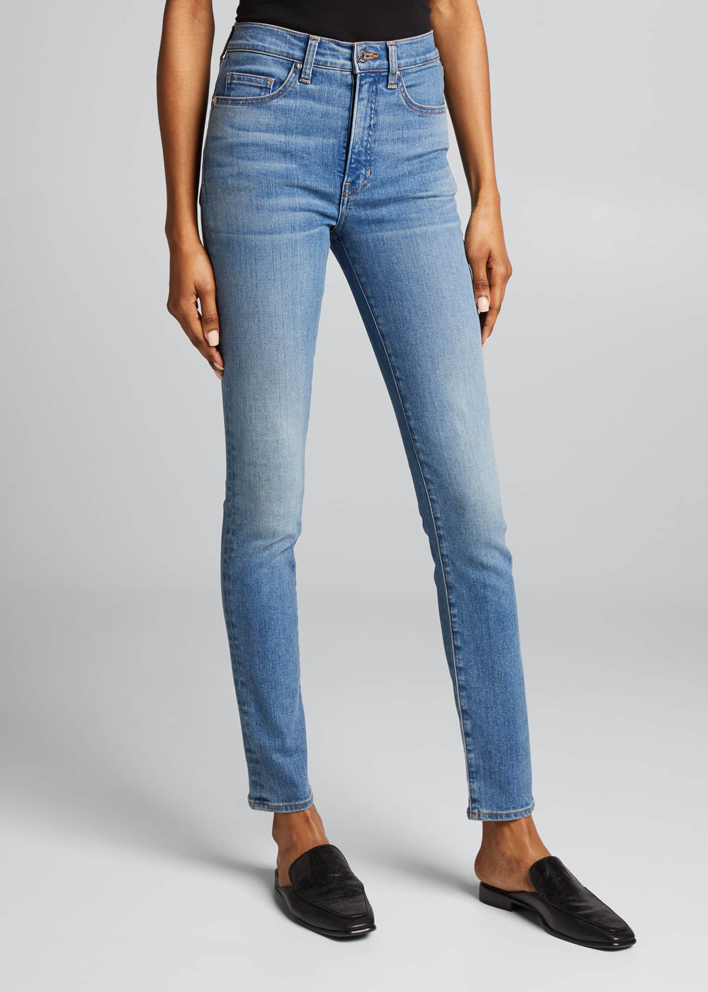 Image 3 of 5: Kate High Rise Skinny Jeans