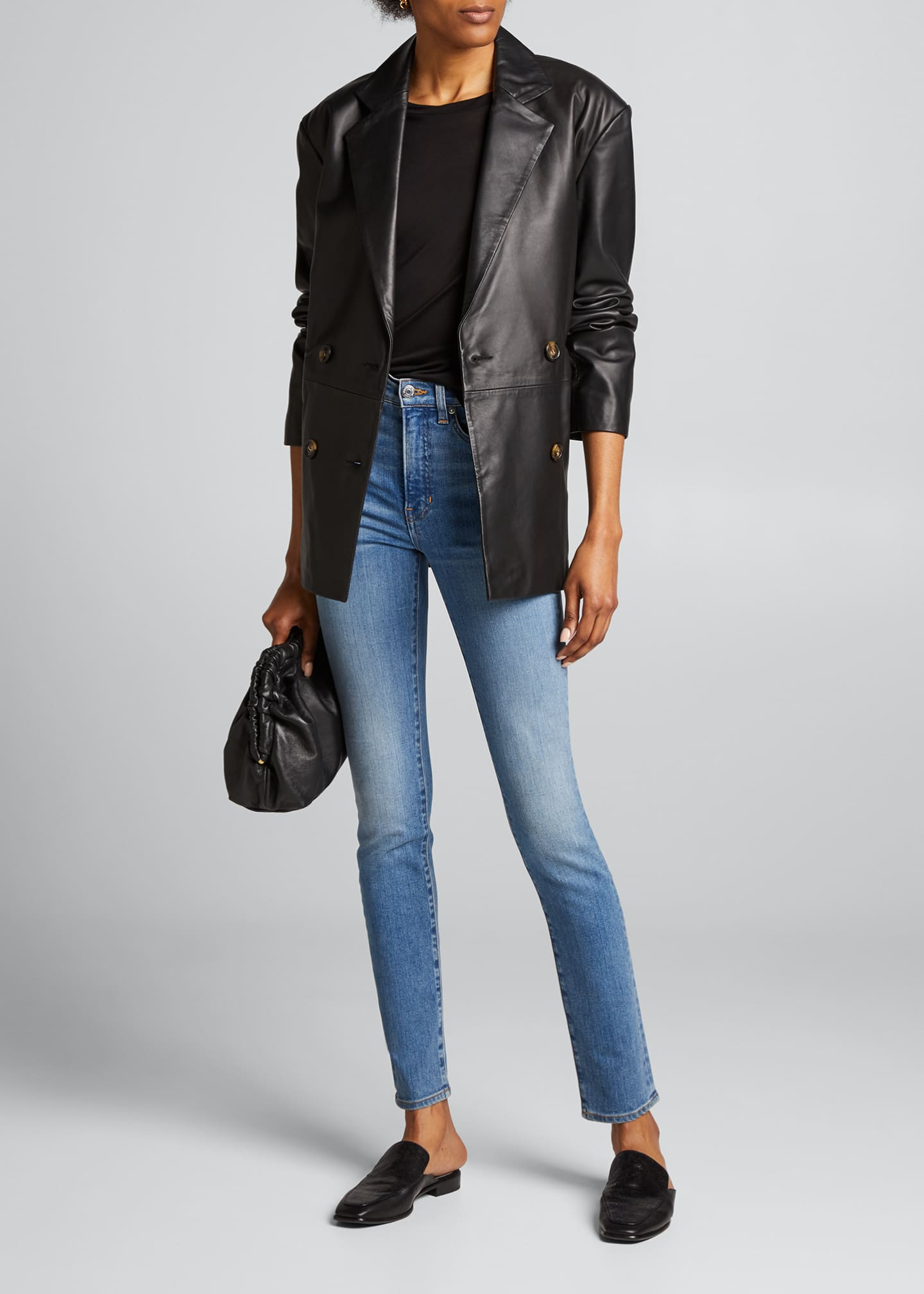 Image 1 of 5: Kate High Rise Skinny Jeans
