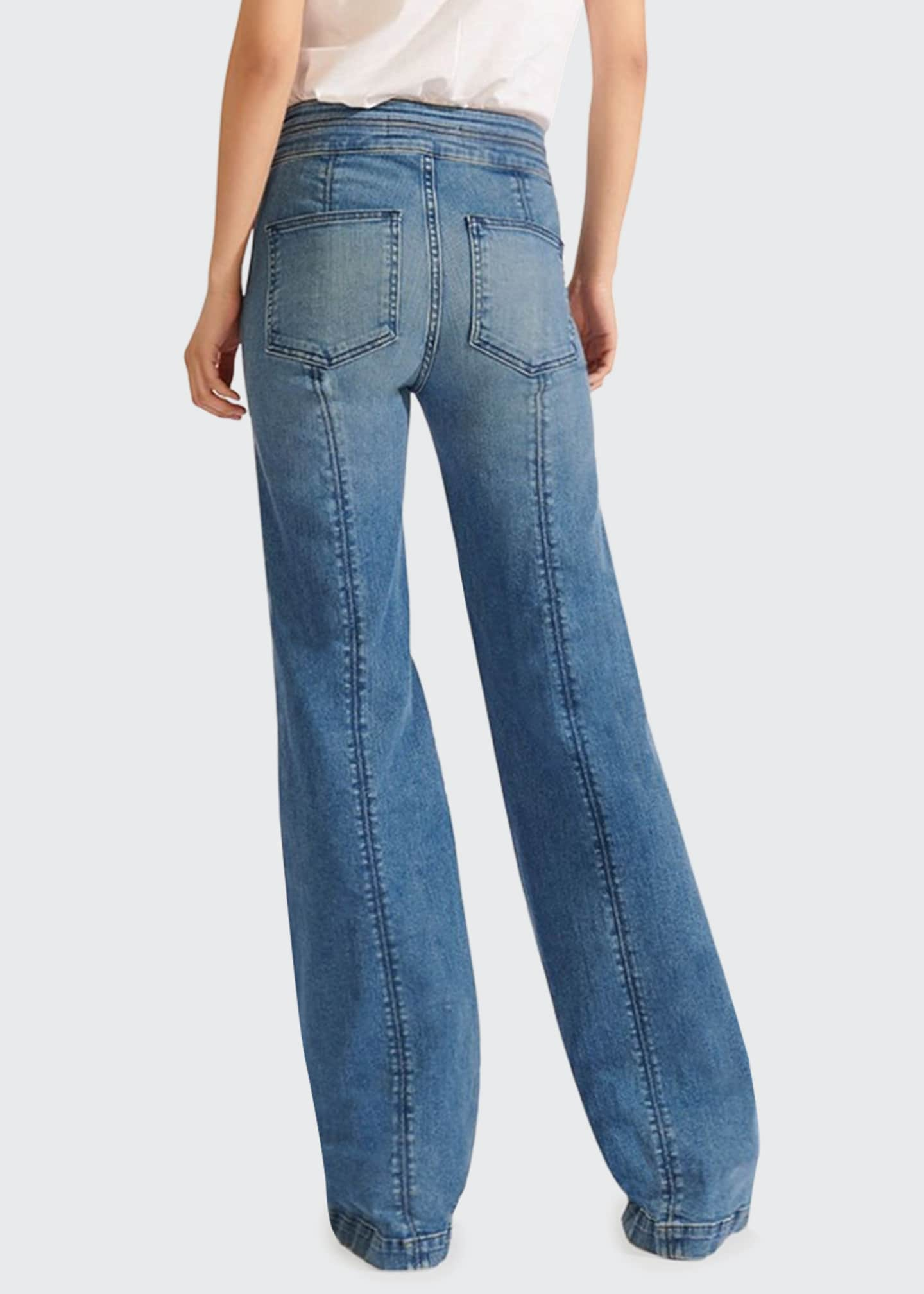 Image 2 of 3: Ember High-Rise Wide-Leg Jeans