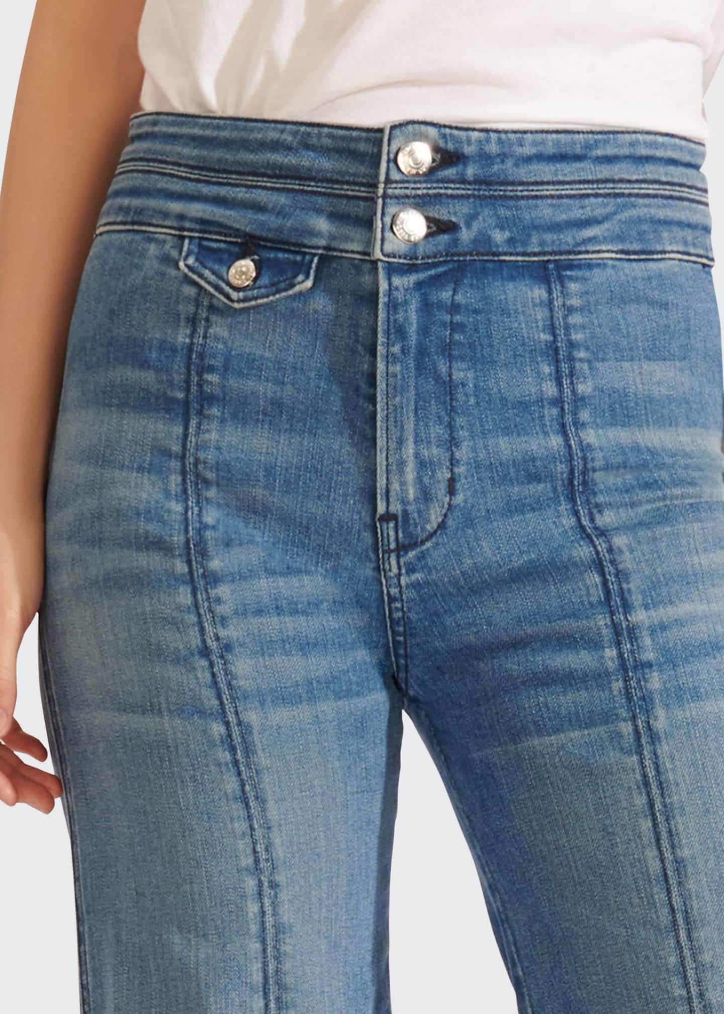 Image 3 of 3: Ember High-Rise Wide-Leg Jeans