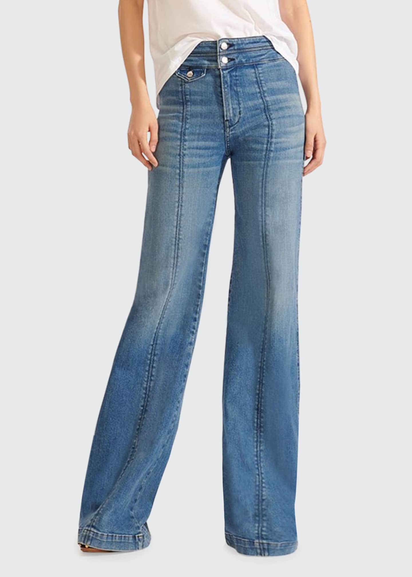 Image 1 of 3: Ember High-Rise Wide-Leg Jeans