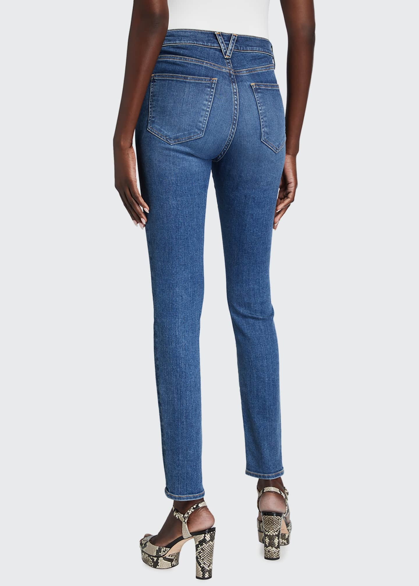Image 2 of 5: Debbie High-Rise Skinny Jeans
