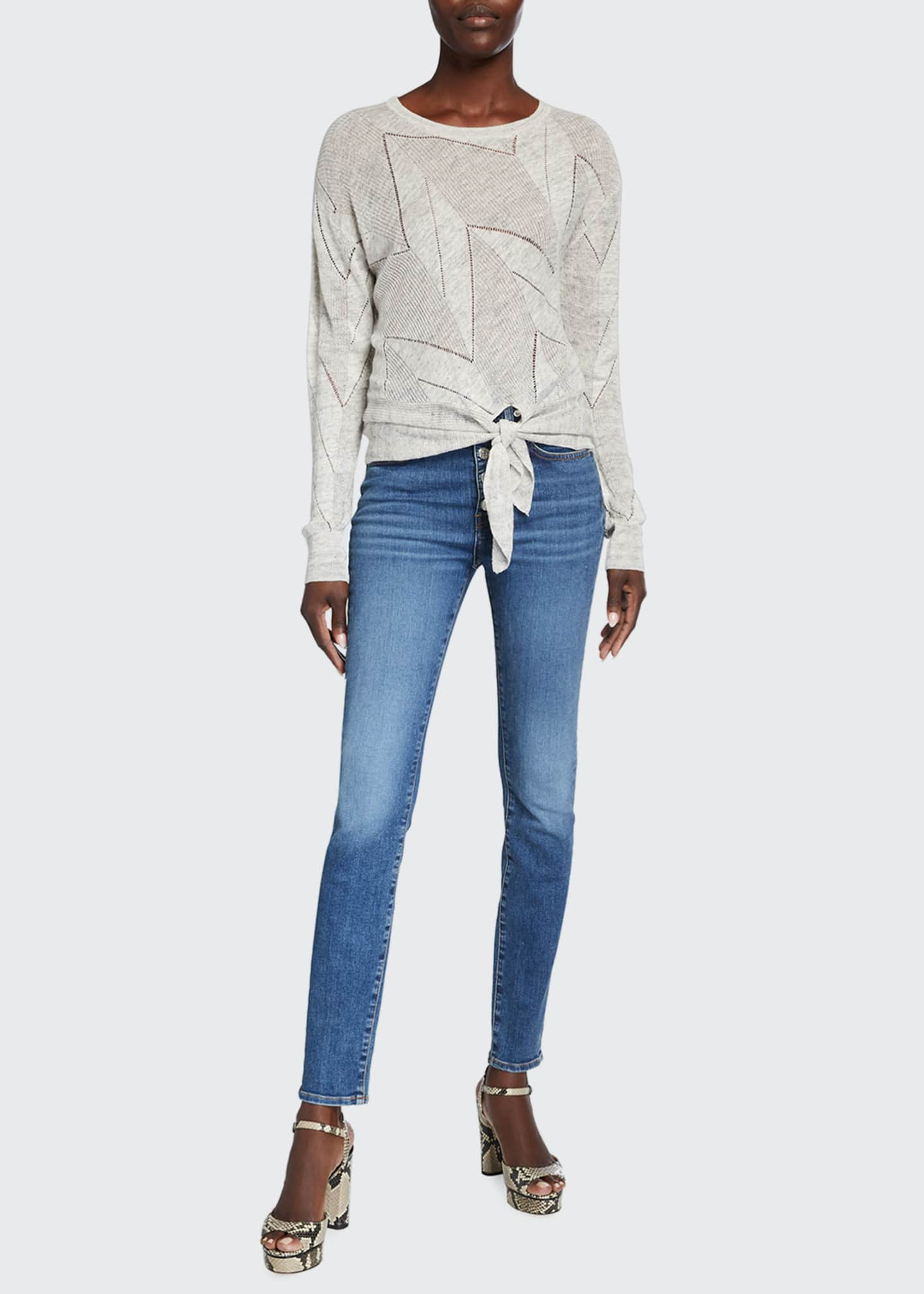Image 3 of 5: Debbie High-Rise Skinny Jeans
