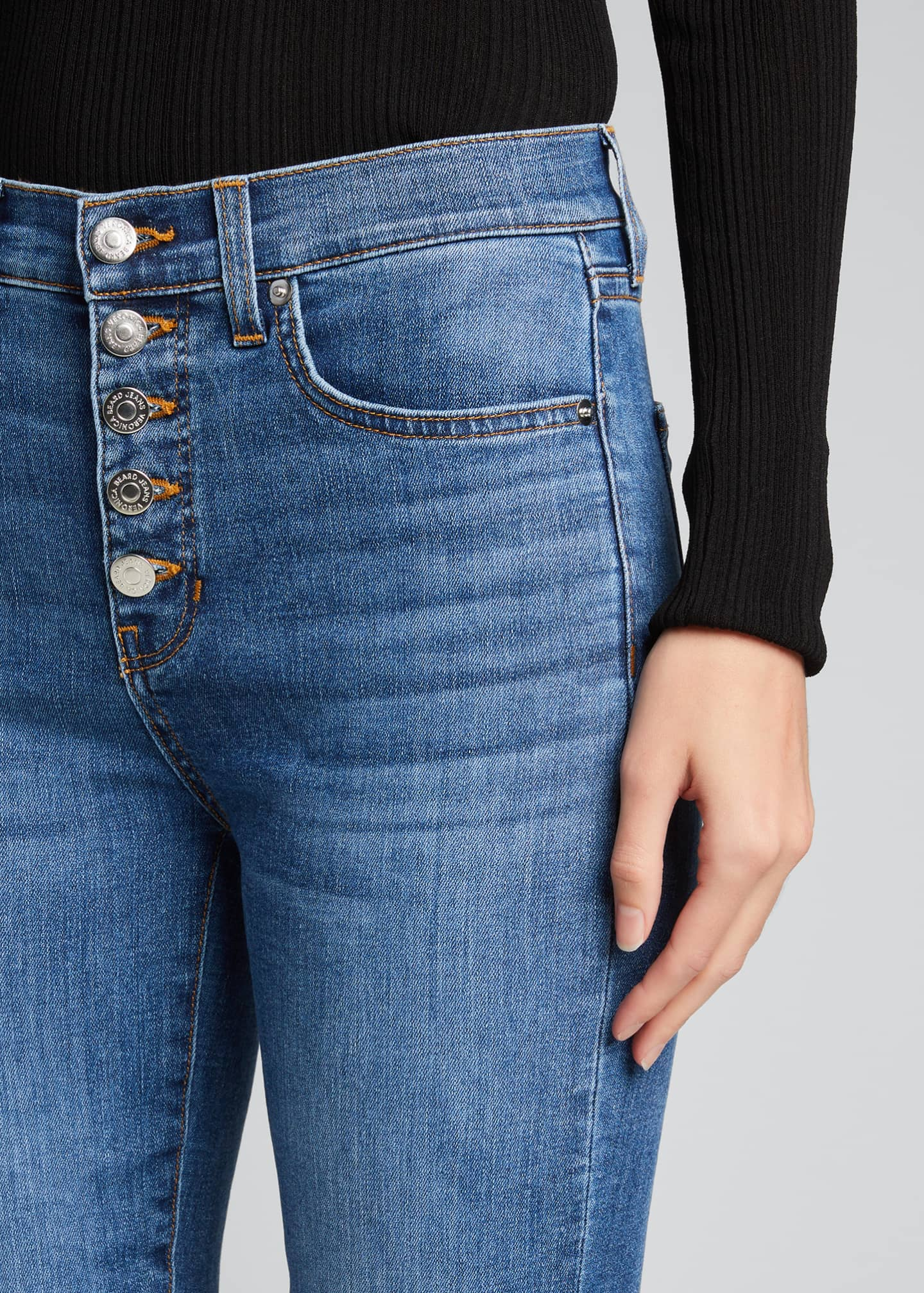 Image 4 of 5: Debbie High-Rise Skinny Jeans