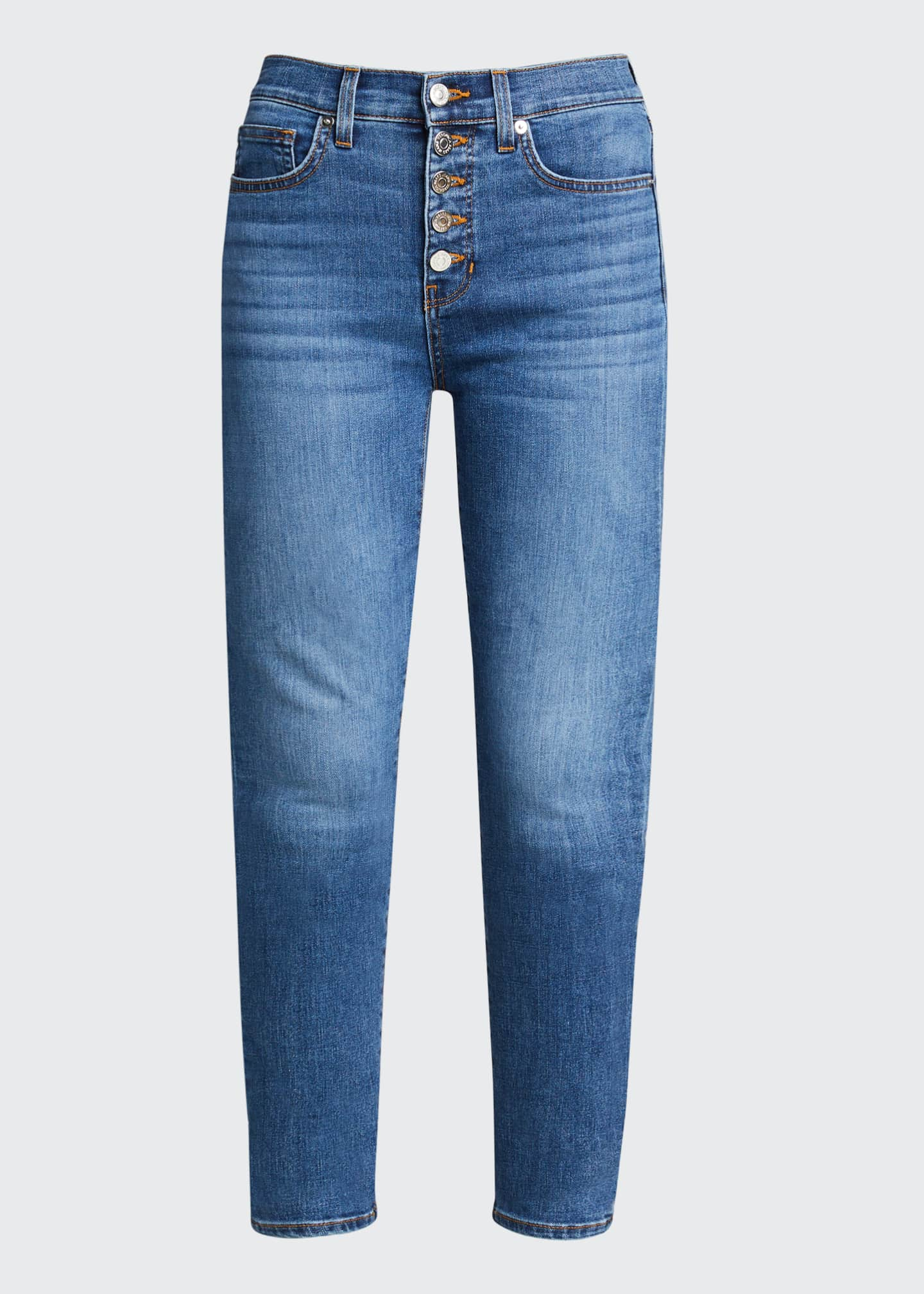 Image 5 of 5: Debbie High-Rise Skinny Jeans