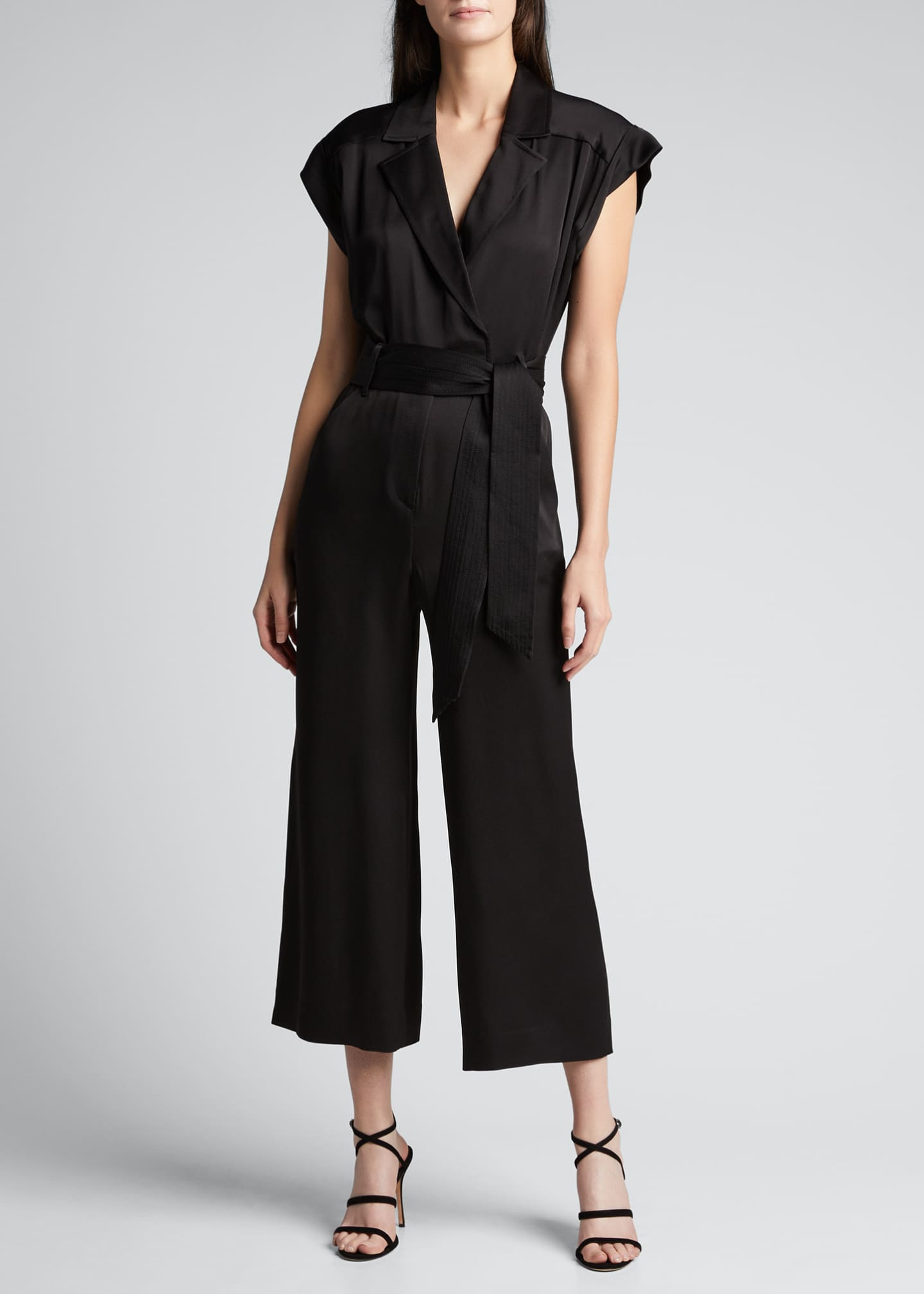 Image 3 of 5: Ophelia Collared Jumpsuit