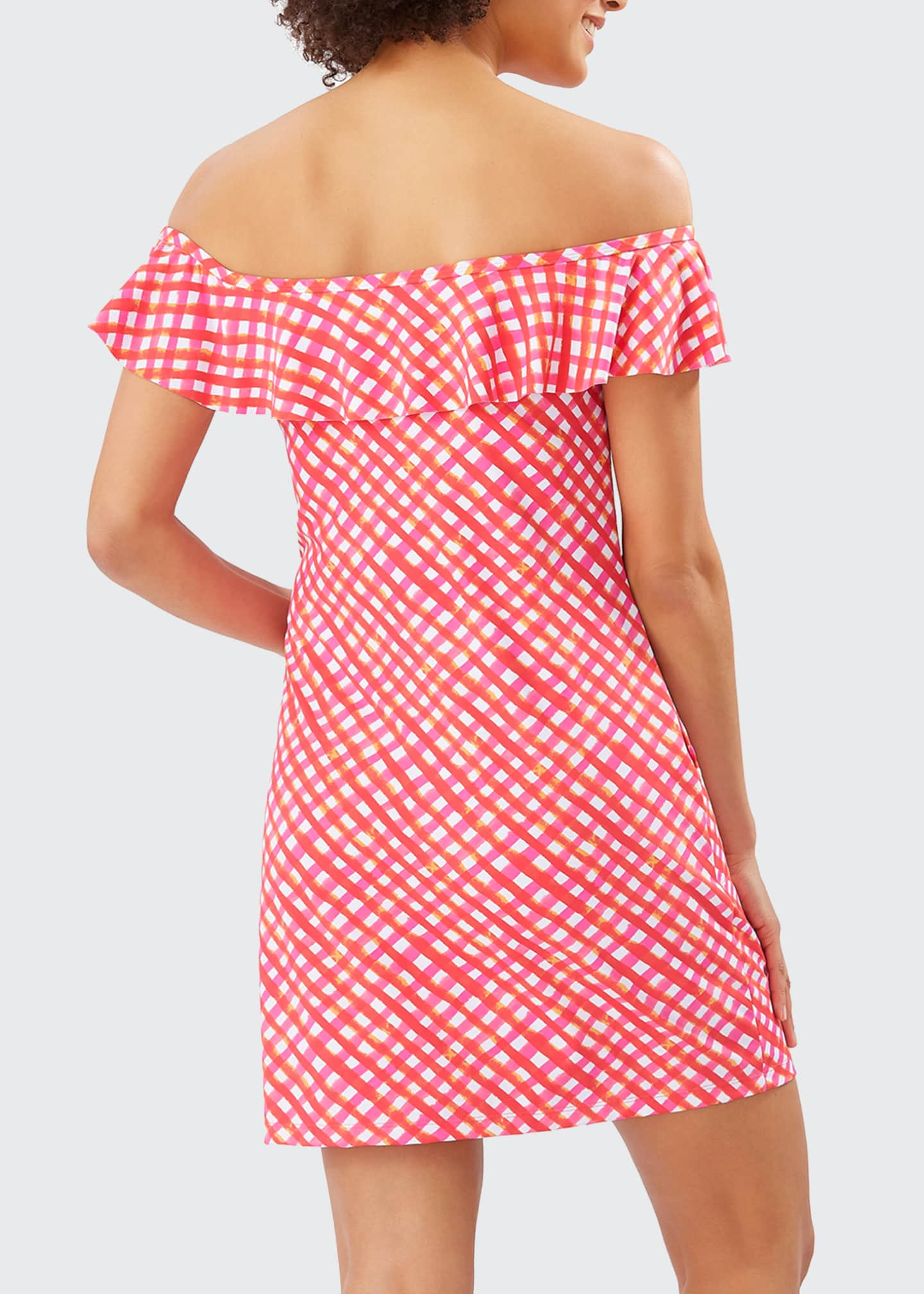 Image 2 of 2: Harbour Island Ruffle Spa Dress