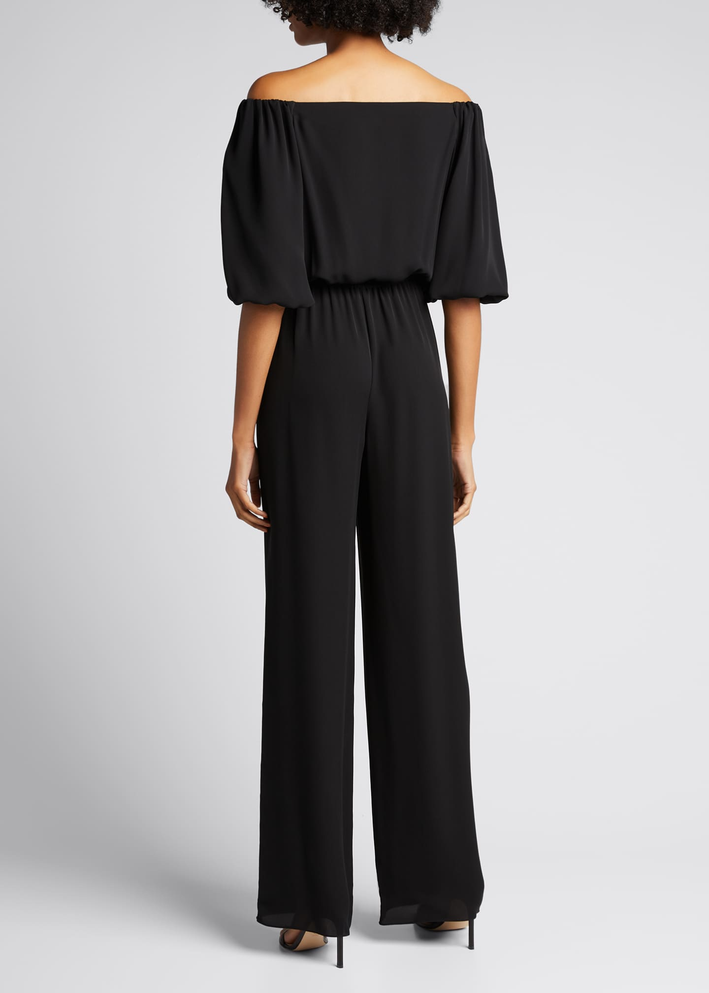 Image 2 of 5: Off-the-Shoulder Classic Jumpsuit