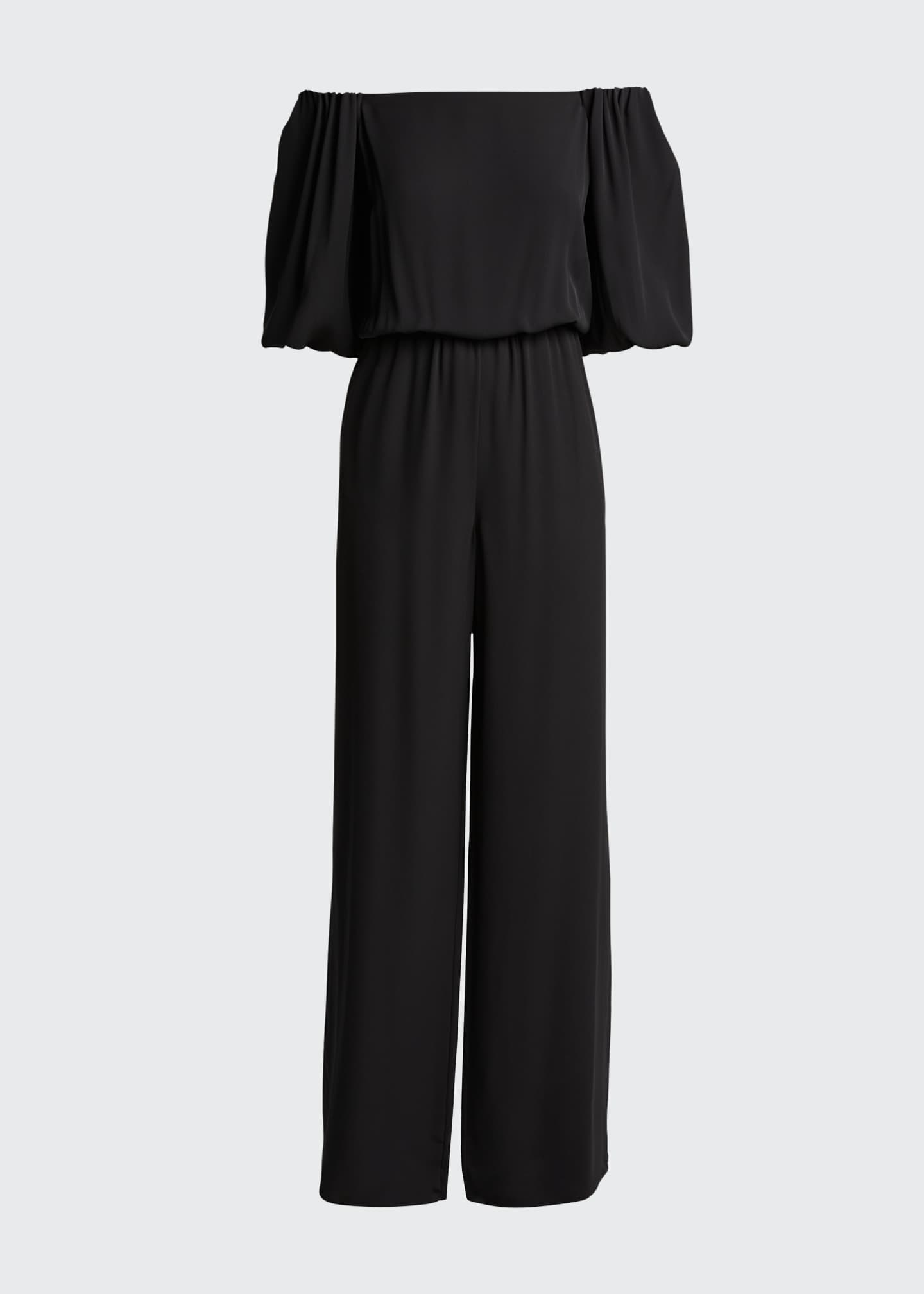 Image 5 of 5: Off-the-Shoulder Classic Jumpsuit