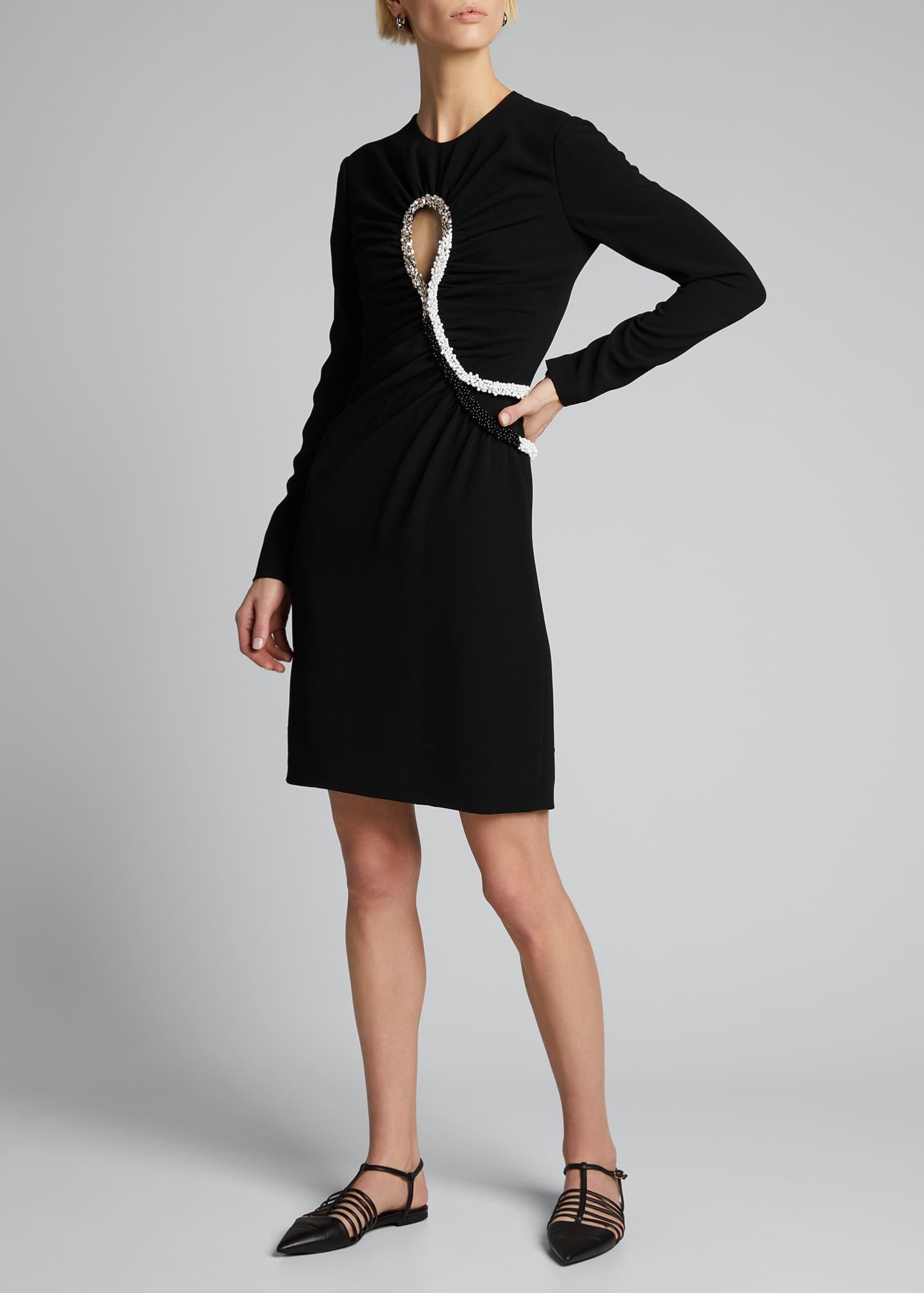 Image 1 of 4: Leah Jersey Bodycon Dress