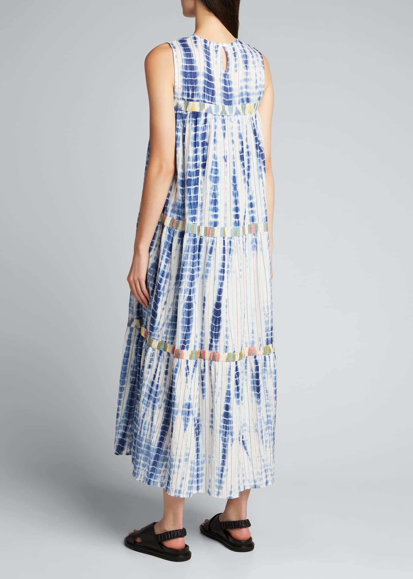 Image 2 of 5: Mezcal Tie-Dye Maxi Dress