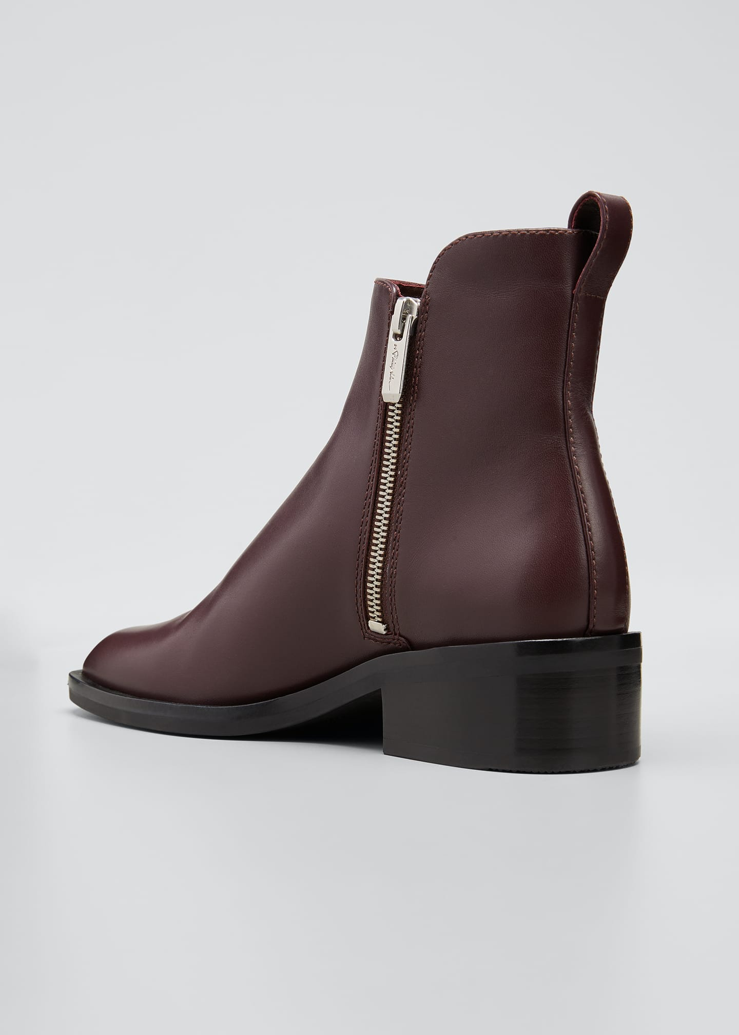 Image 2 of 3: Alexa Dual Zip Ankle Boots