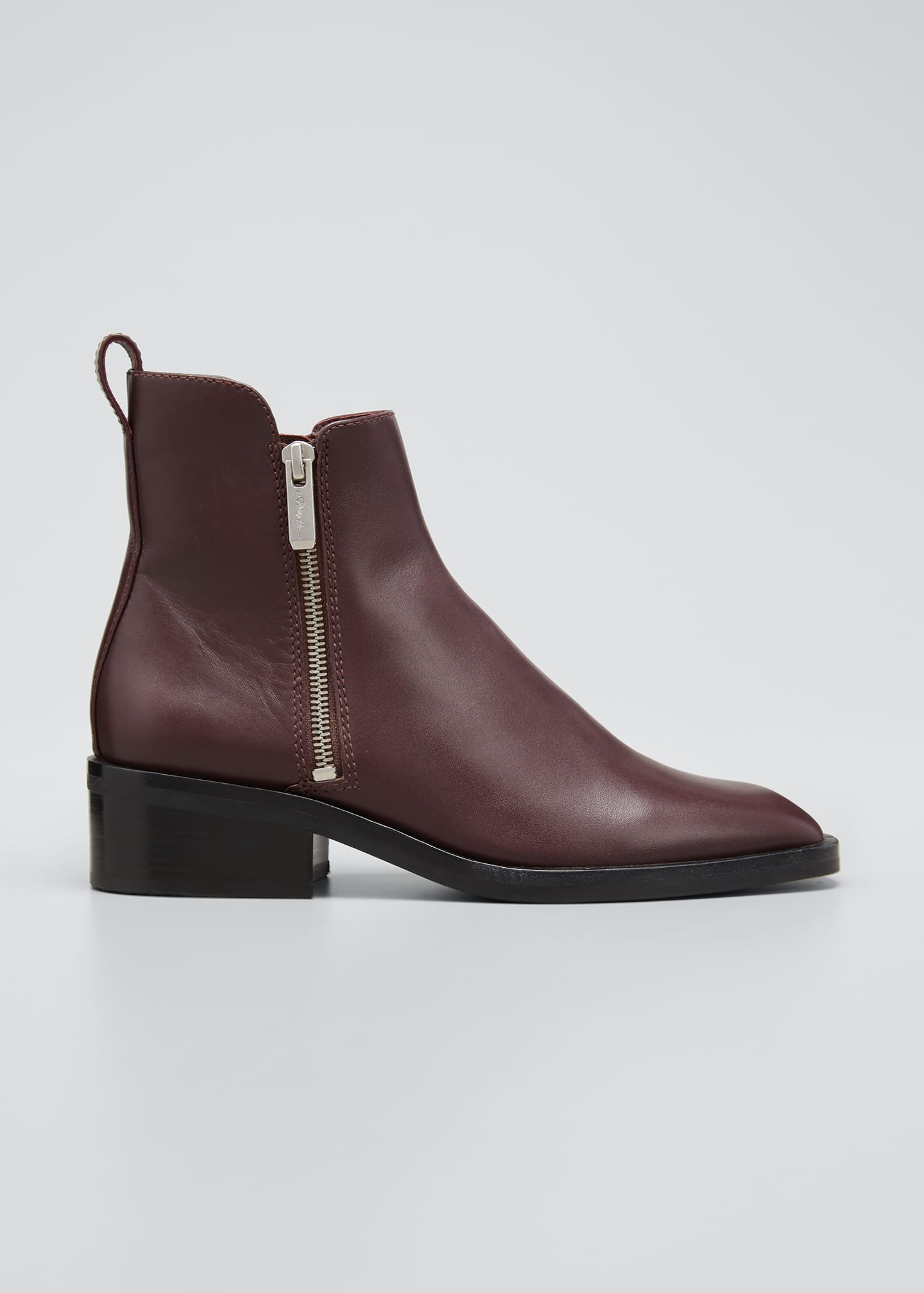 Image 1 of 3: Alexa Dual Zip Ankle Boots