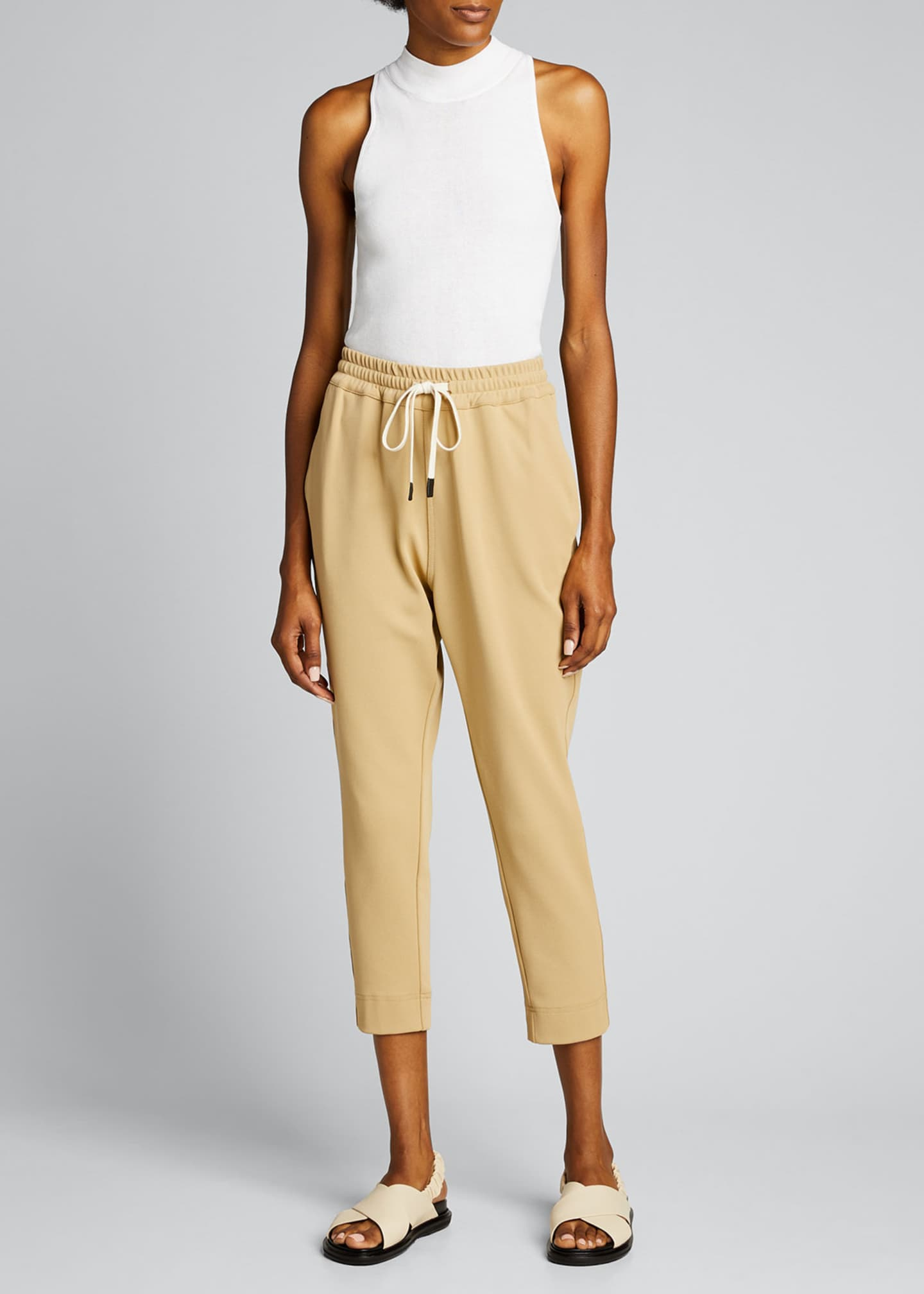 Image 1 of 5: Stretch Twill Tapered Pants