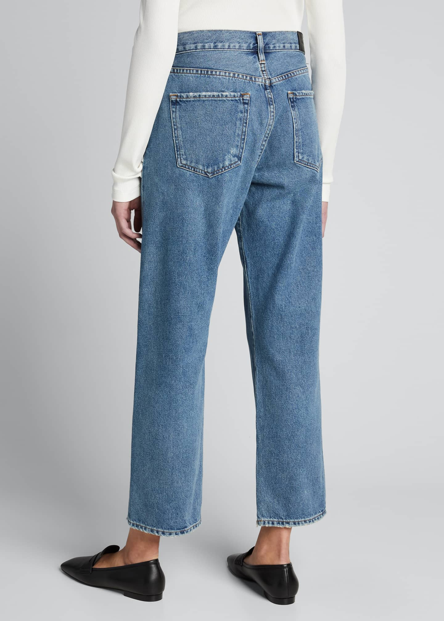 Image 2 of 5: The Relaxed Straight-Leg Jeans