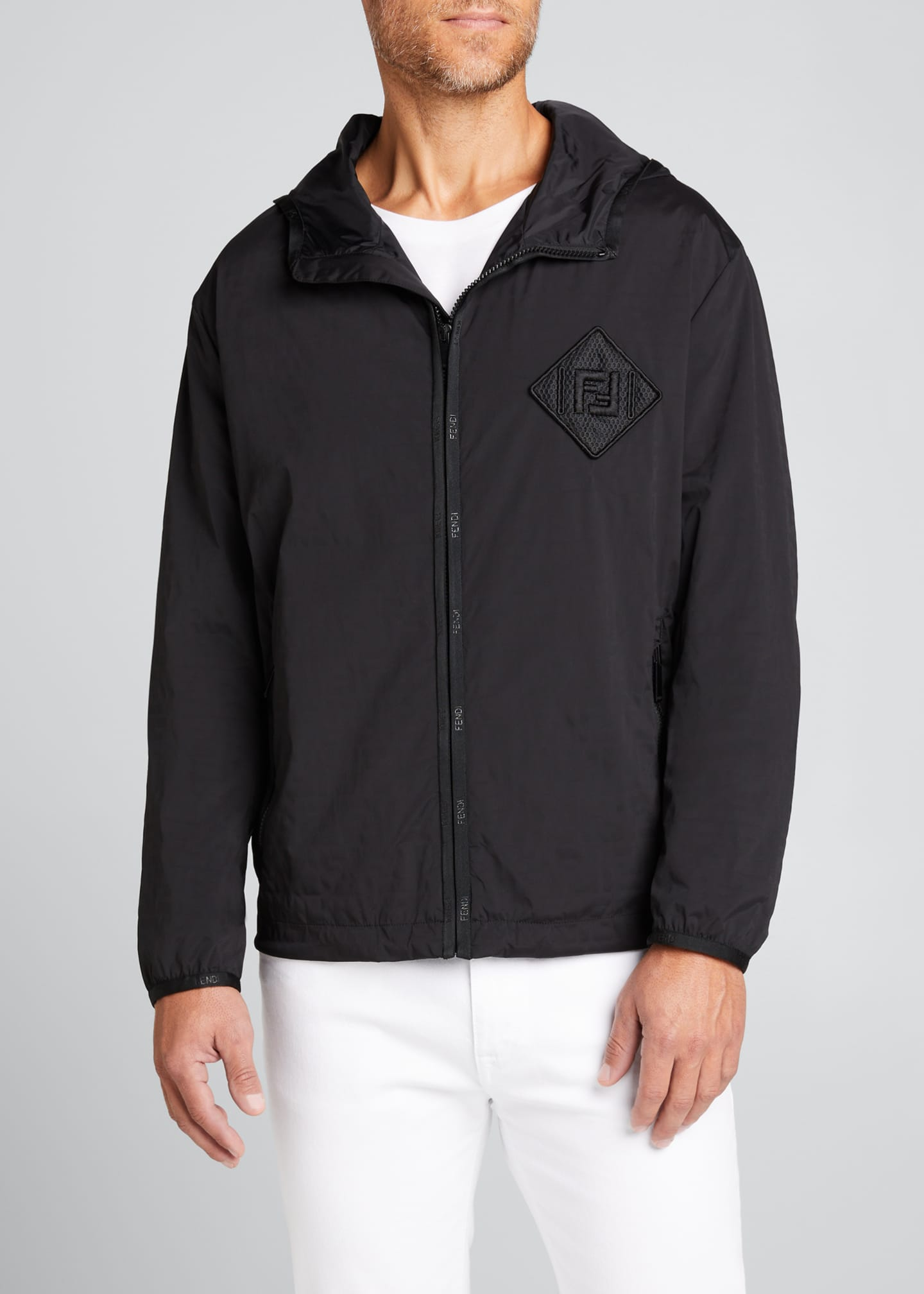 Image 3 of 4: Men's FF Water Reveal Wind-Resistant Jacket