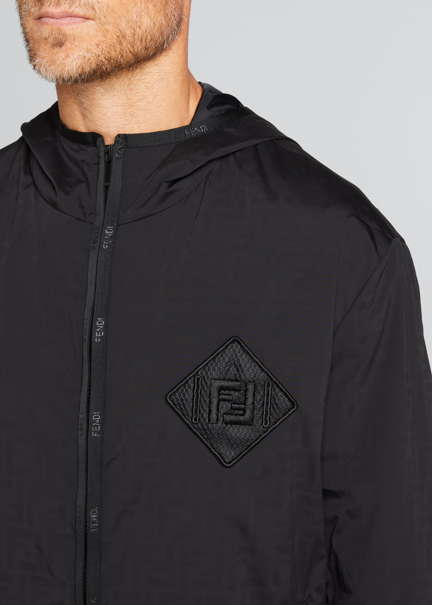 Image 4 of 4: Men's FF Water Reveal Wind-Resistant Jacket