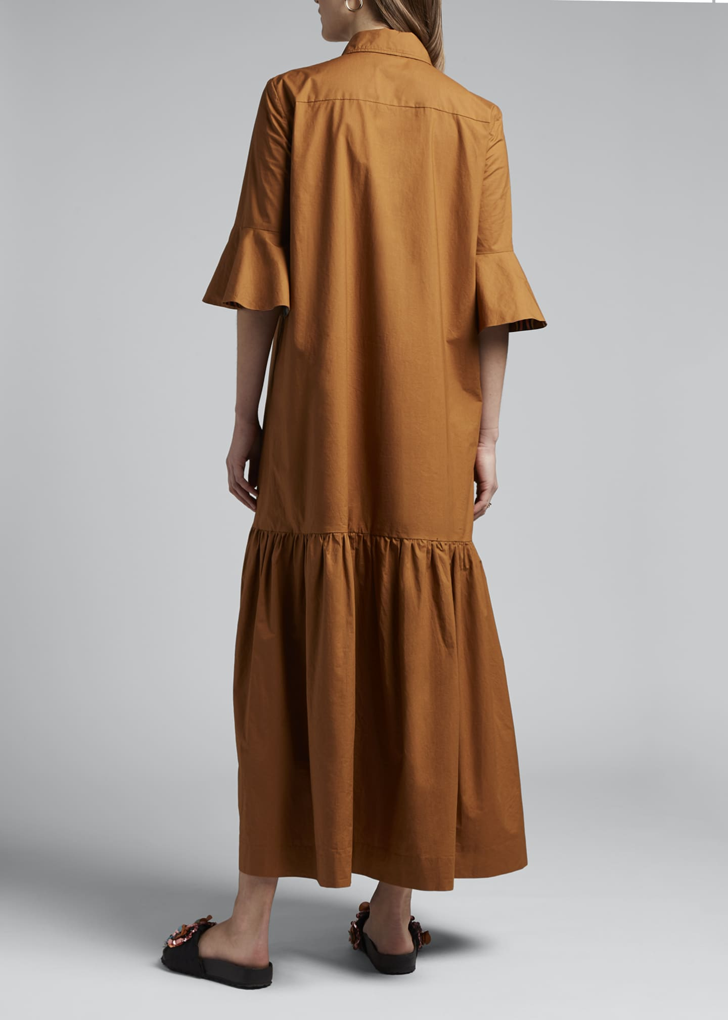 Image 2 of 4: Artemis Canvas Shirtdress