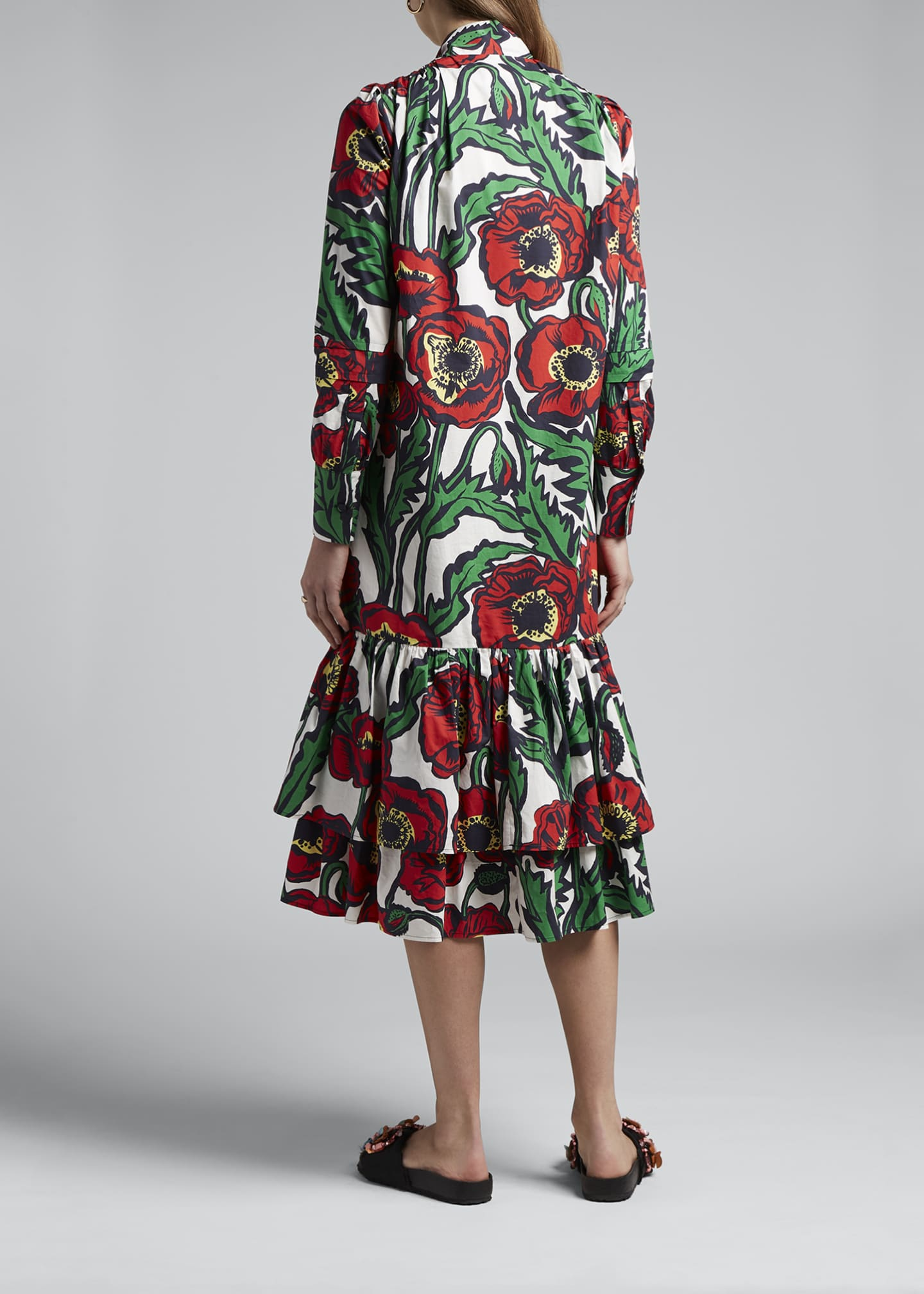 Image 2 of 4: Good Witch Floral Print Dress