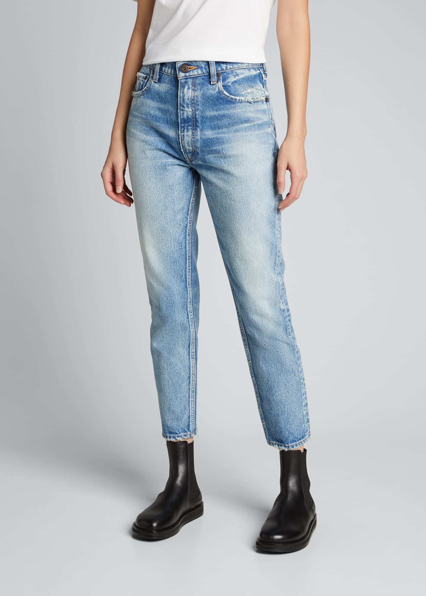 Image 3 of 5: Glen Boy Skinny Ankle Jeans