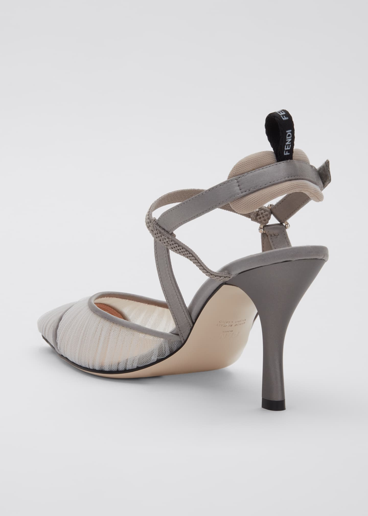 Image 4 of 5: Colibri Ruched Slingback Pumps