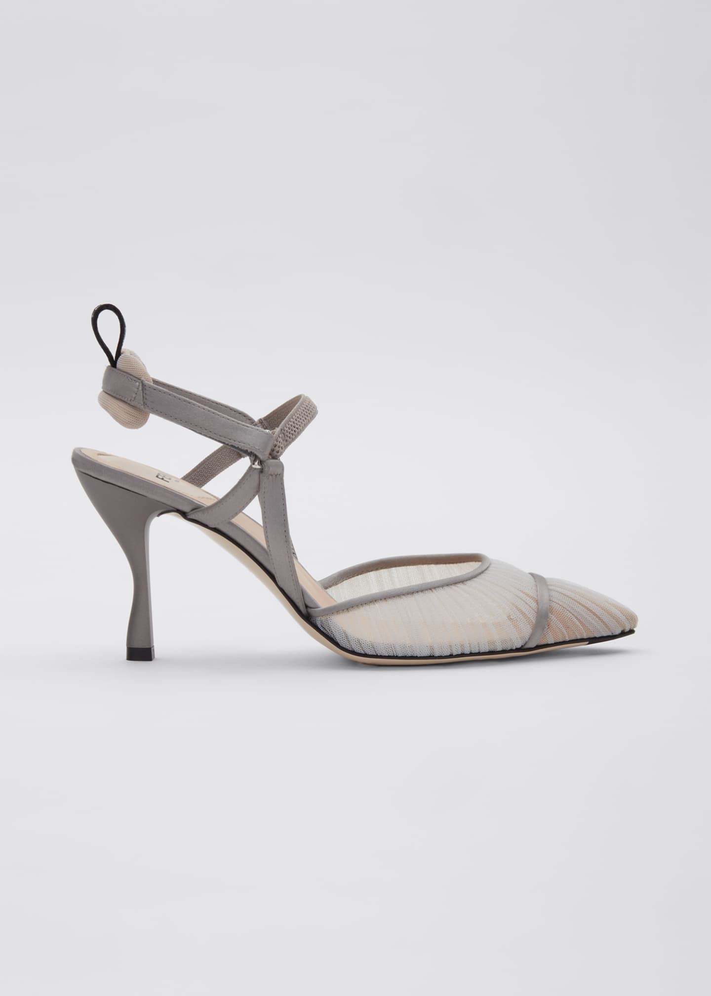 Image 1 of 5: Colibri Ruched Slingback Pumps