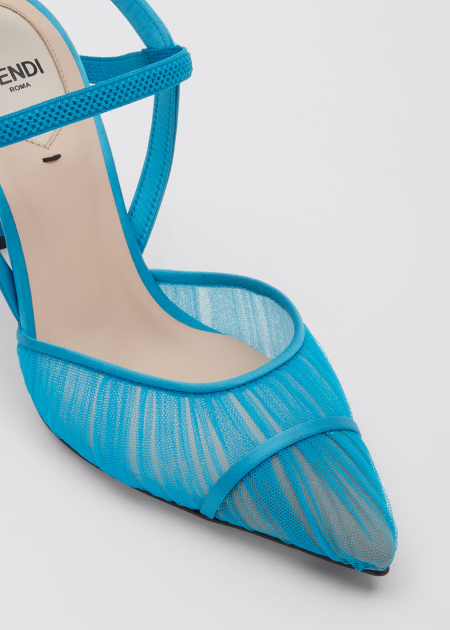 Image 5 of 5: Colibri Ruched Slingback Pumps