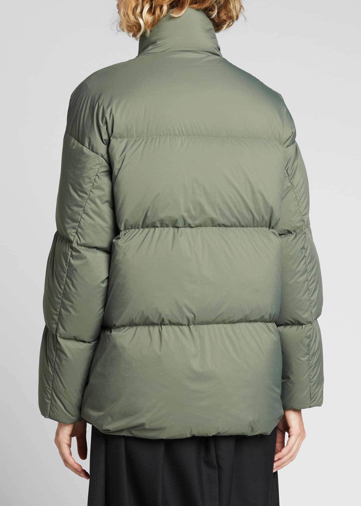 Image 2 of 4: Cloud Oversized Puffer Jacket