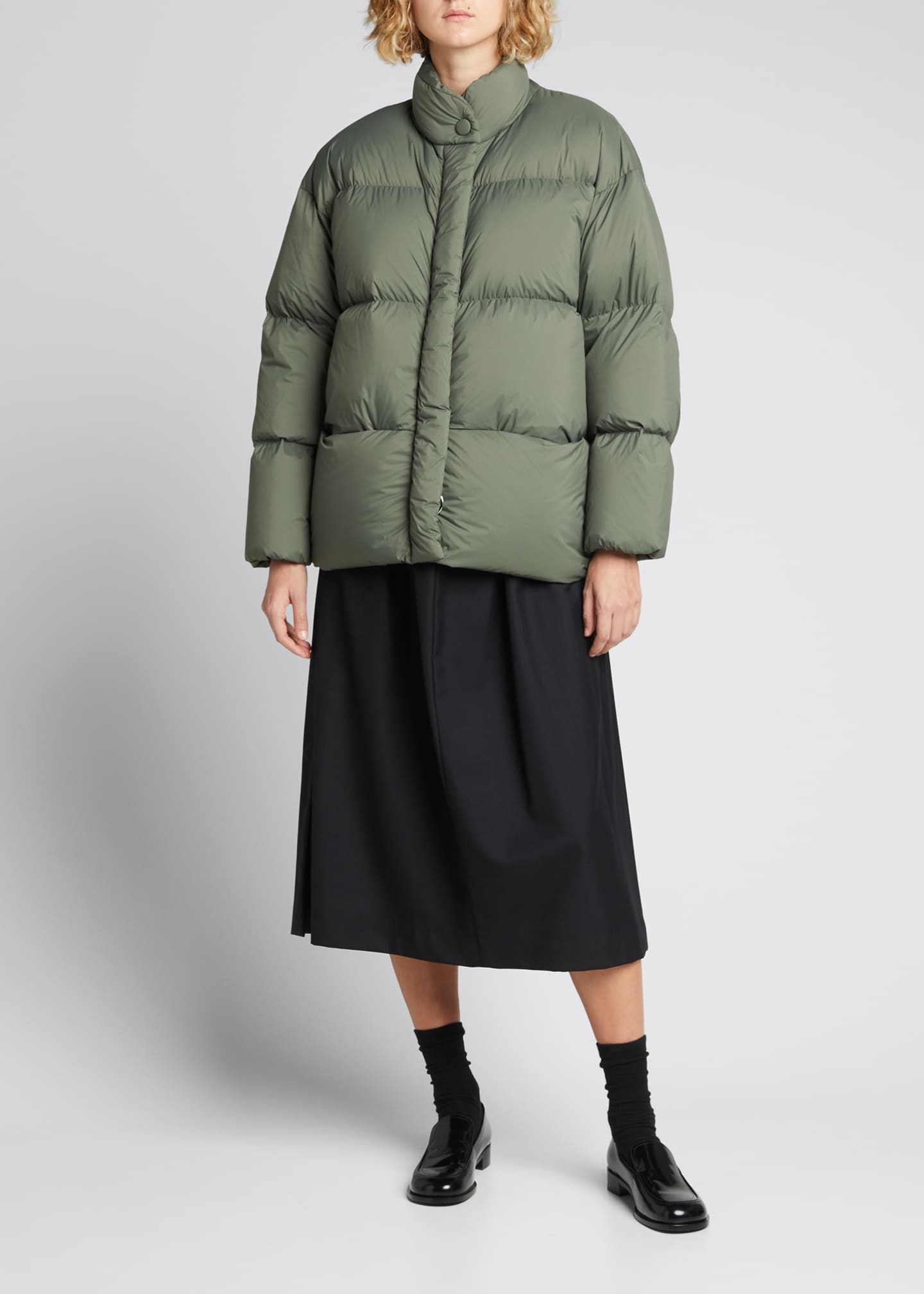 Image 1 of 4: Cloud Oversized Puffer Jacket