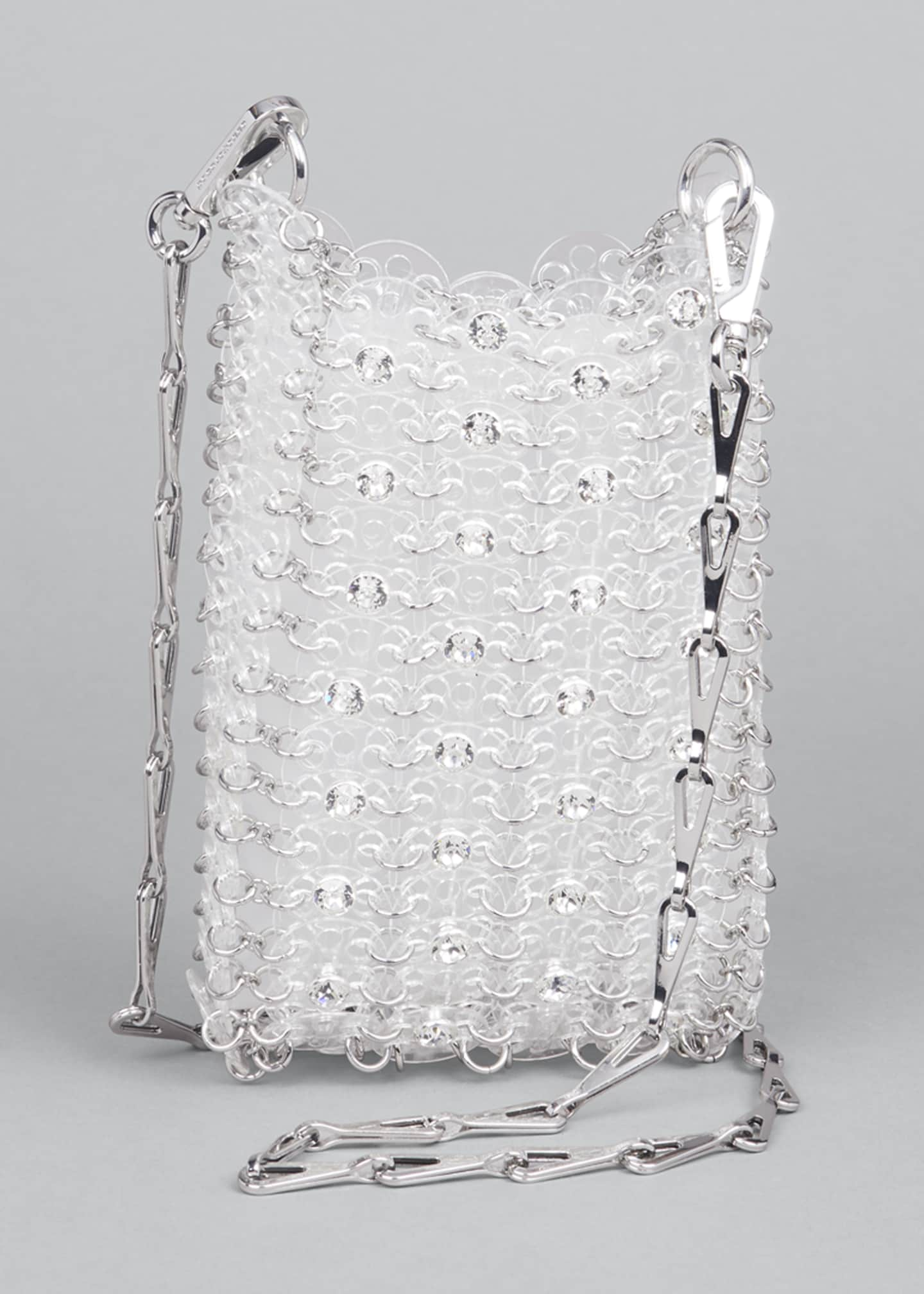 Image 1 of 5: Clear Sequin Chain Shoulder Bag
