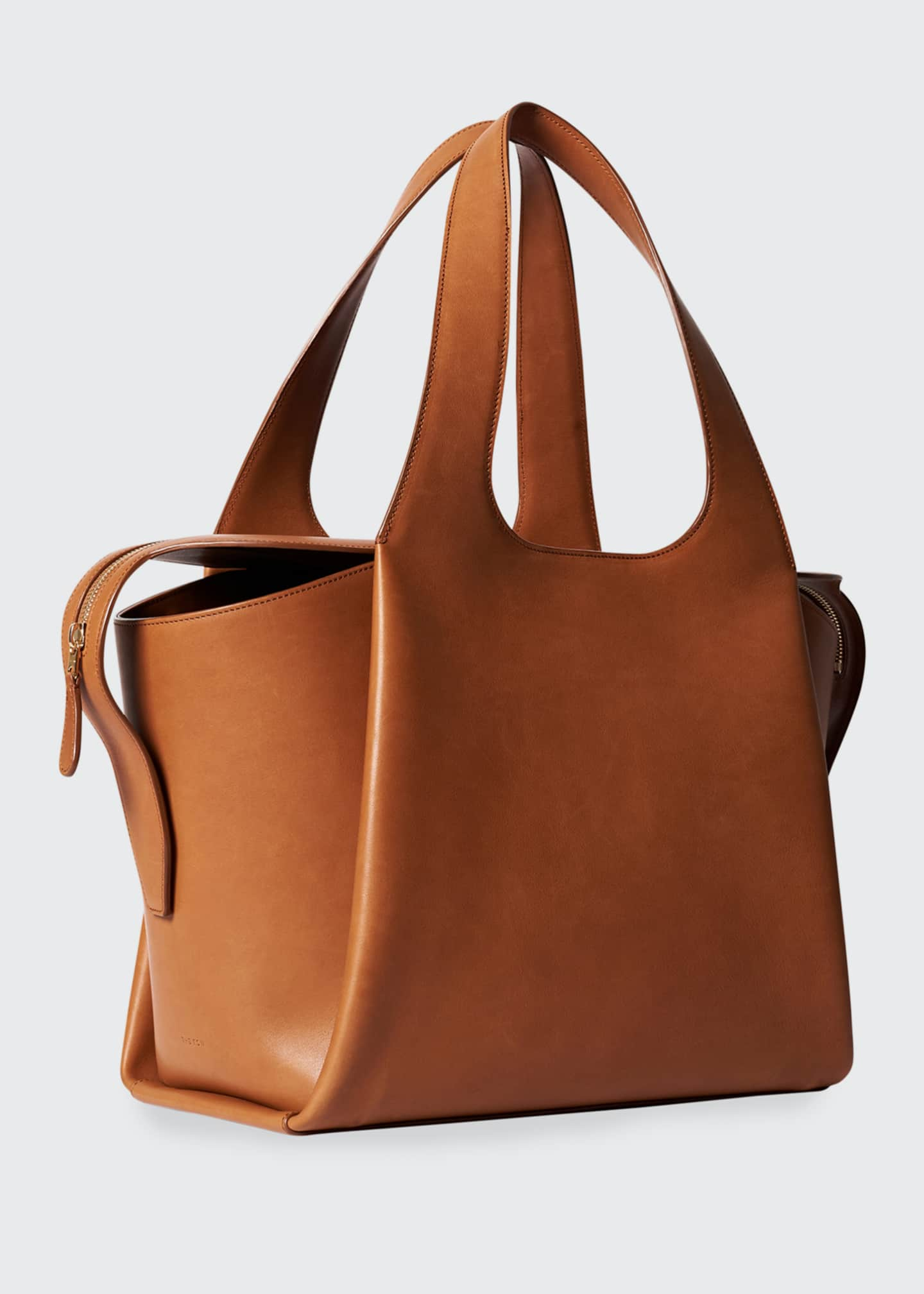 Image 2 of 3: Large TR1 Bag in Calfskin Leather