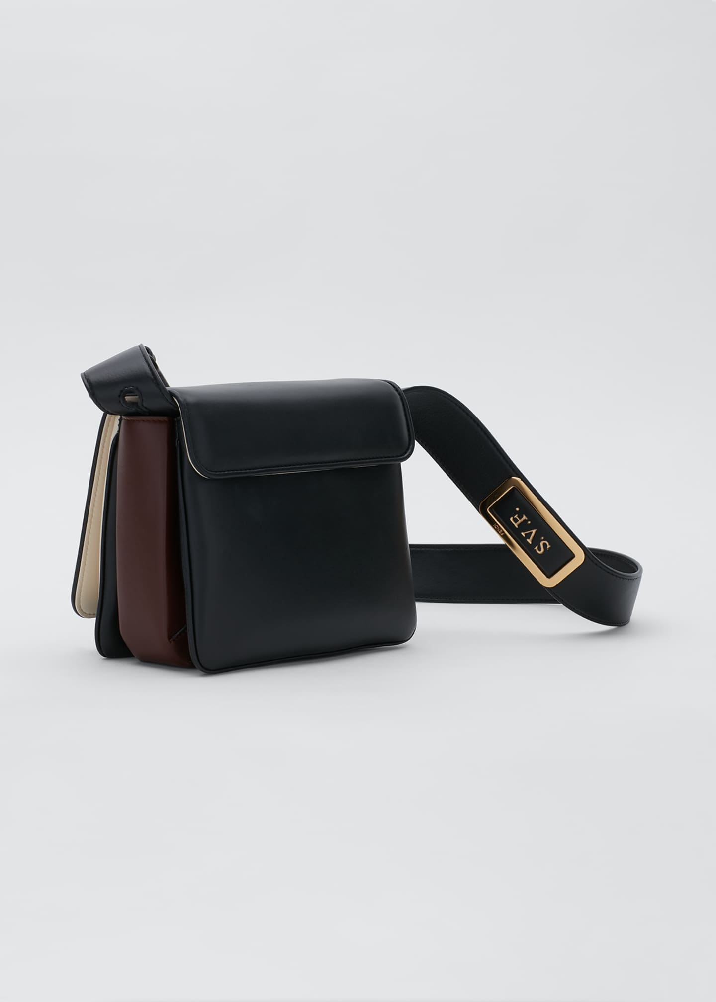 Image 3 of 5: Fendi ID Square Crossbody Bag