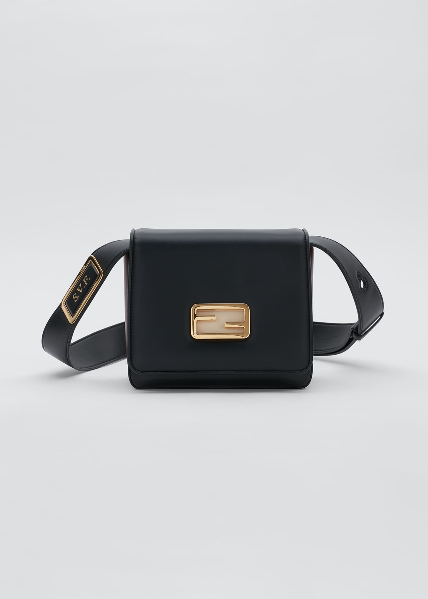 Image 1 of 5: Fendi ID Square Crossbody Bag