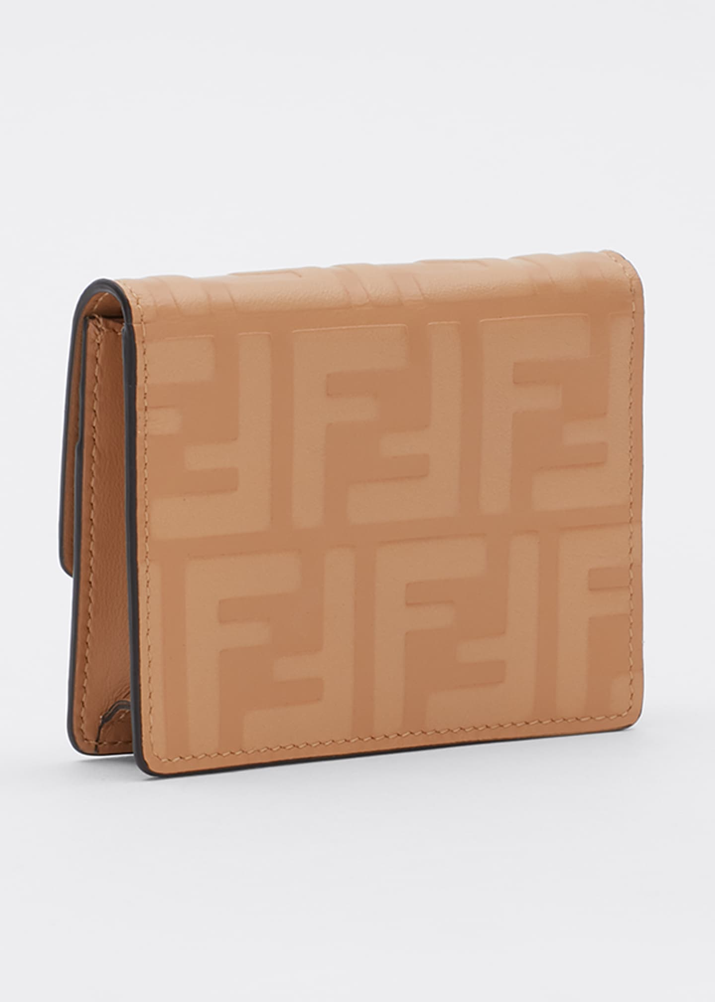 Image 3 of 5: F is Fendi 1974 FF Leather Wallet on Chain