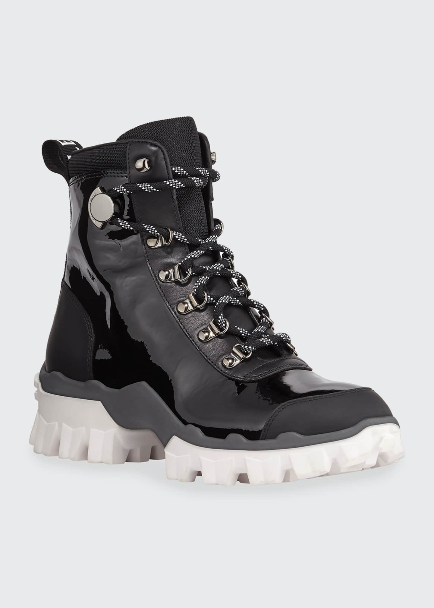 Image 2 of 5: Helis Stivale Leather Lace-Up Hiking Boots