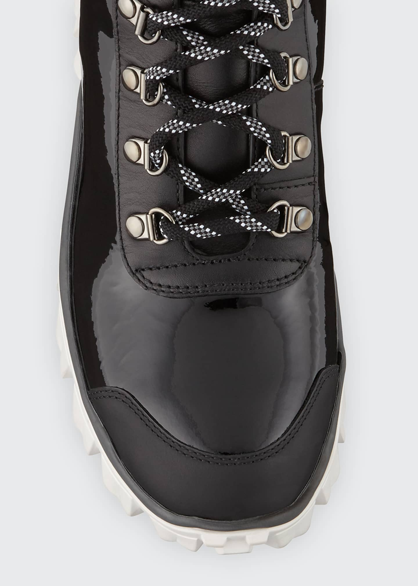 Image 3 of 5: Helis Stivale Leather Lace-Up Hiking Boots