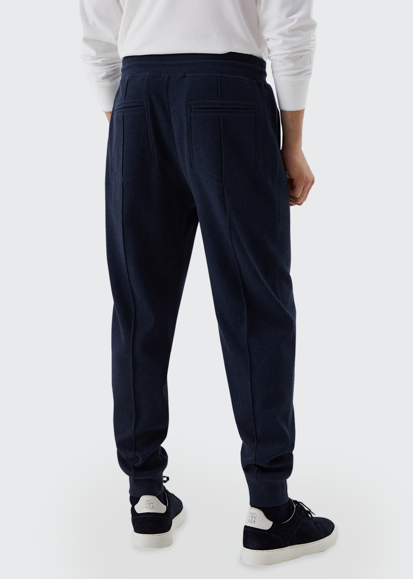 Image 2 of 3: Men's Drawstring Banded Sweatpants