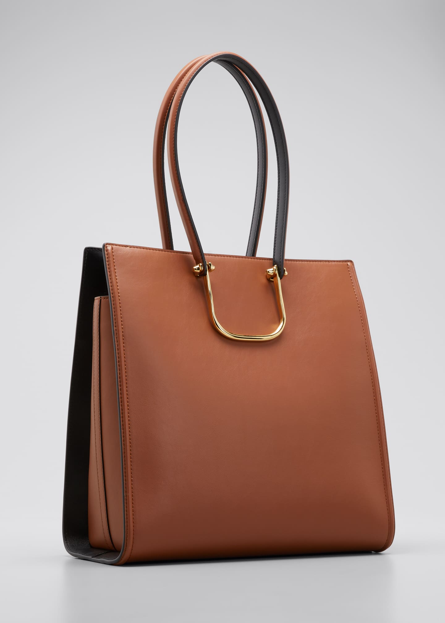 Image 3 of 4: The Tall Story Bag in Calf Leather