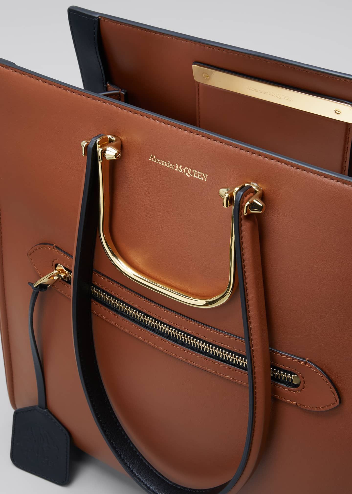 Image 4 of 4: The Tall Story Bag in Calf Leather