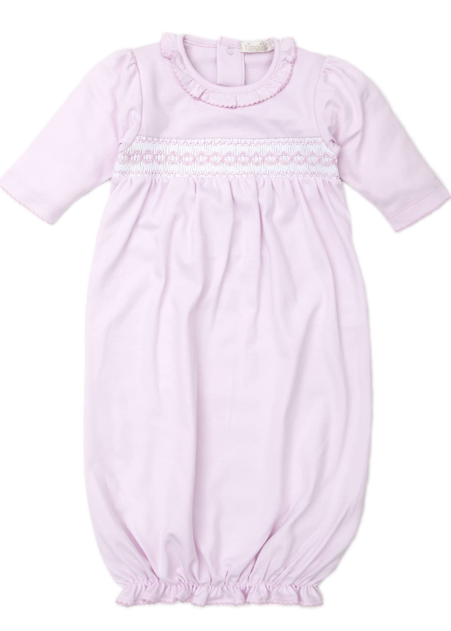 Image 1 of 1: CLB Fall Pink Sleep Gown, Size Newborn-Small