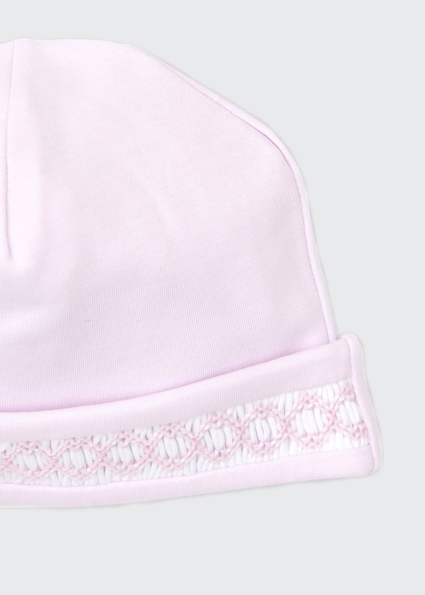 Image 3 of 3: CLB Fall Pink Pima Baby Hat