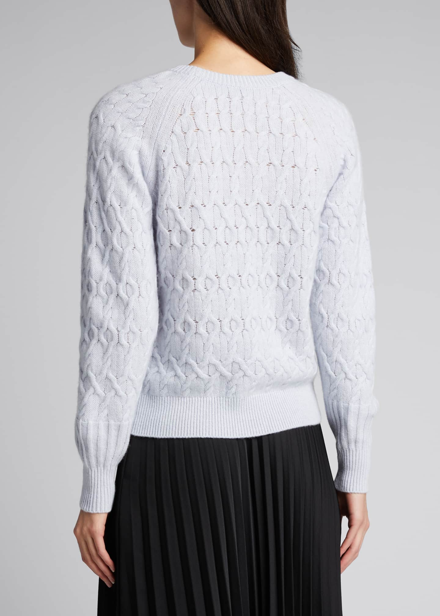 Image 2 of 5: Diamond Cashmere-Blend Sweater