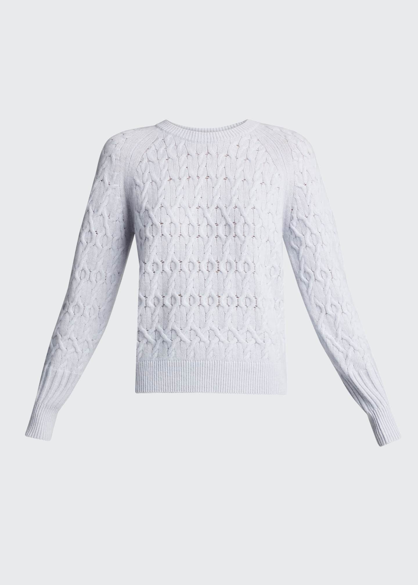 Image 5 of 5: Diamond Cashmere-Blend Sweater