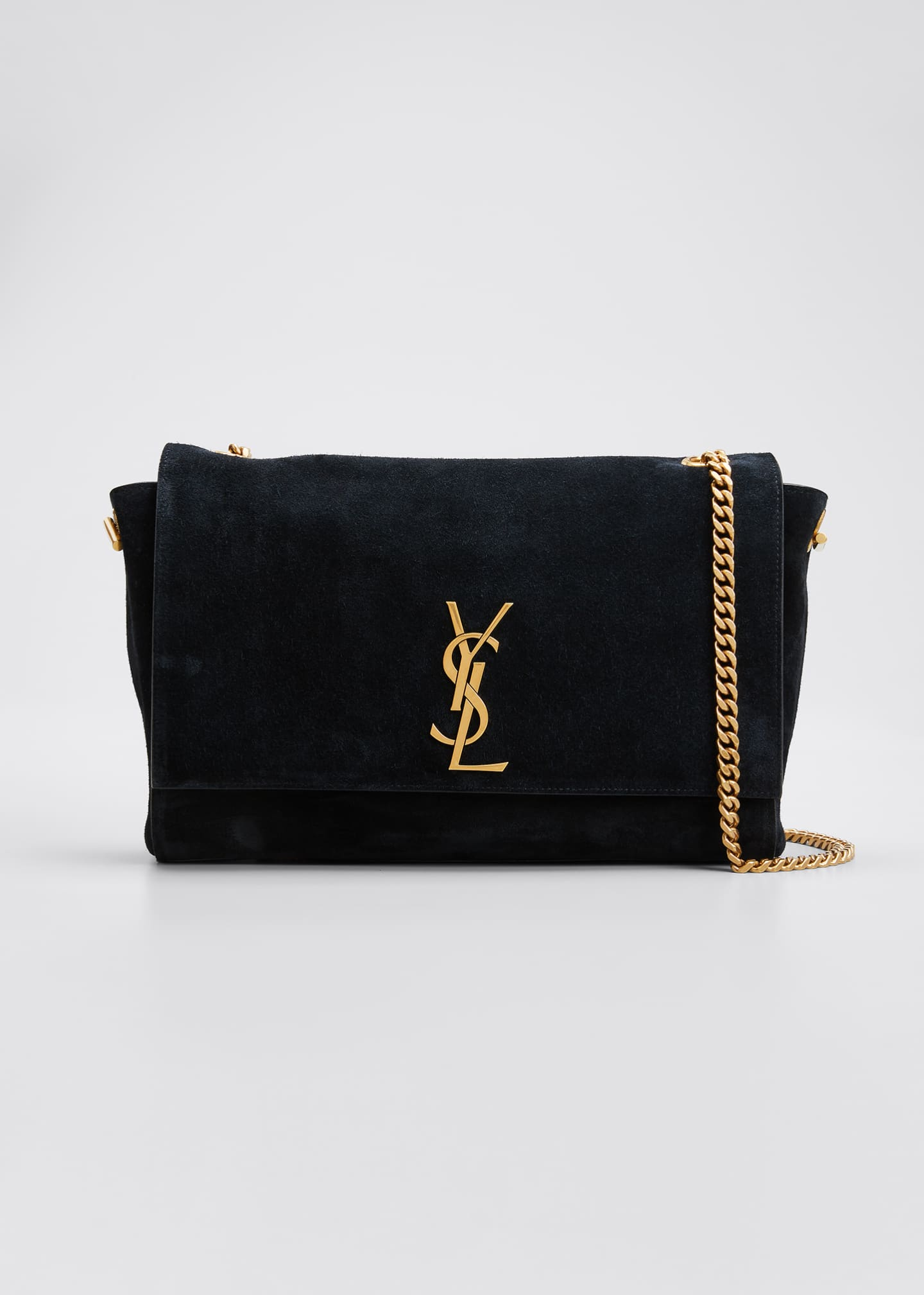 Image 1 of 5: Kate Medium YSL Reversible Suede Crossbody Bag