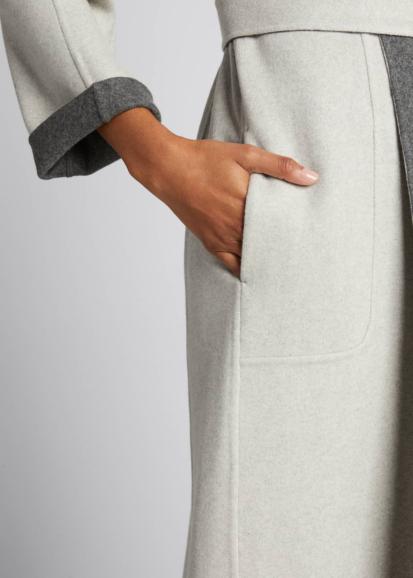 Image 4 of 5: Kerrin Belted Double Coat