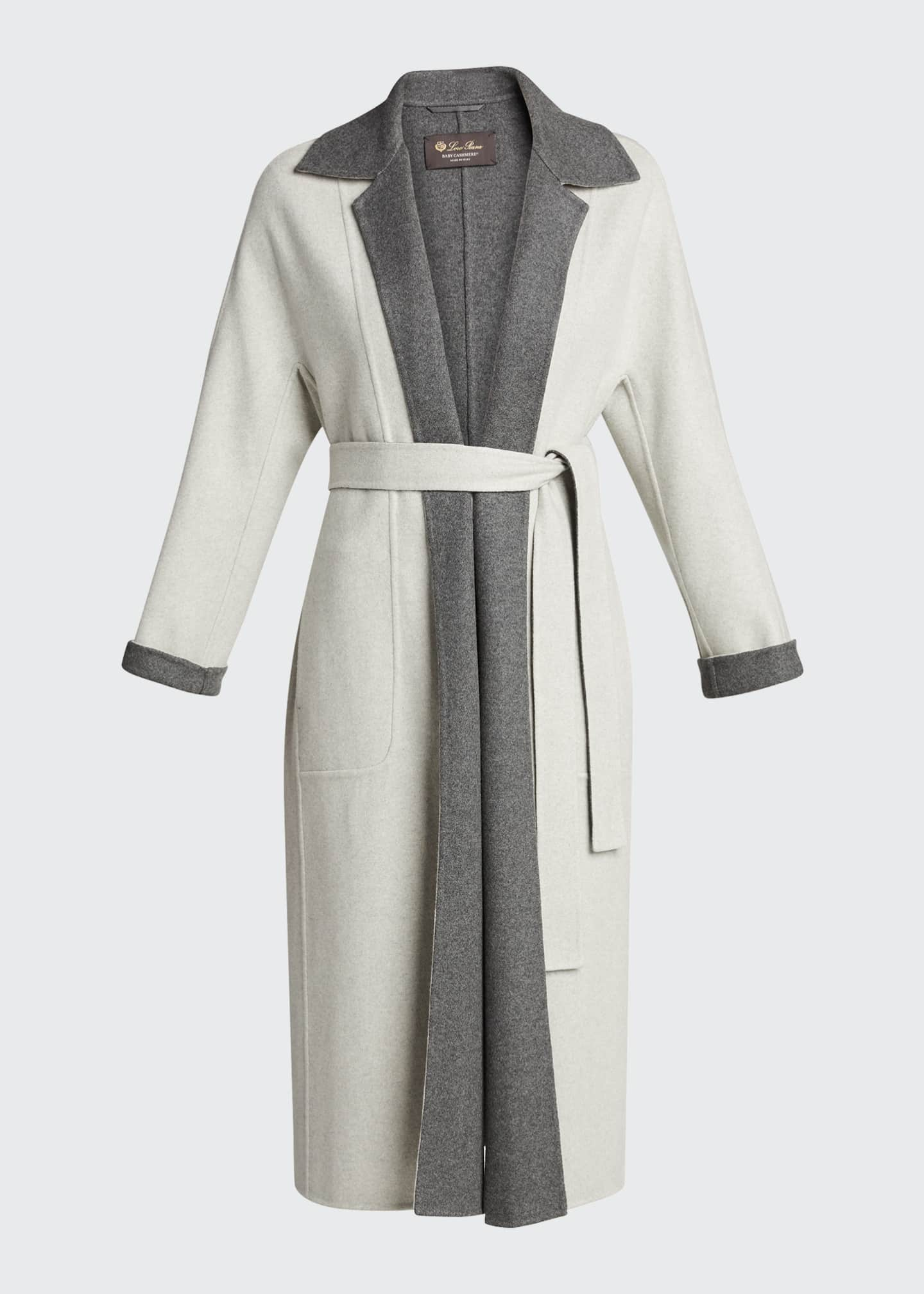 Image 5 of 5: Kerrin Belted Double Coat