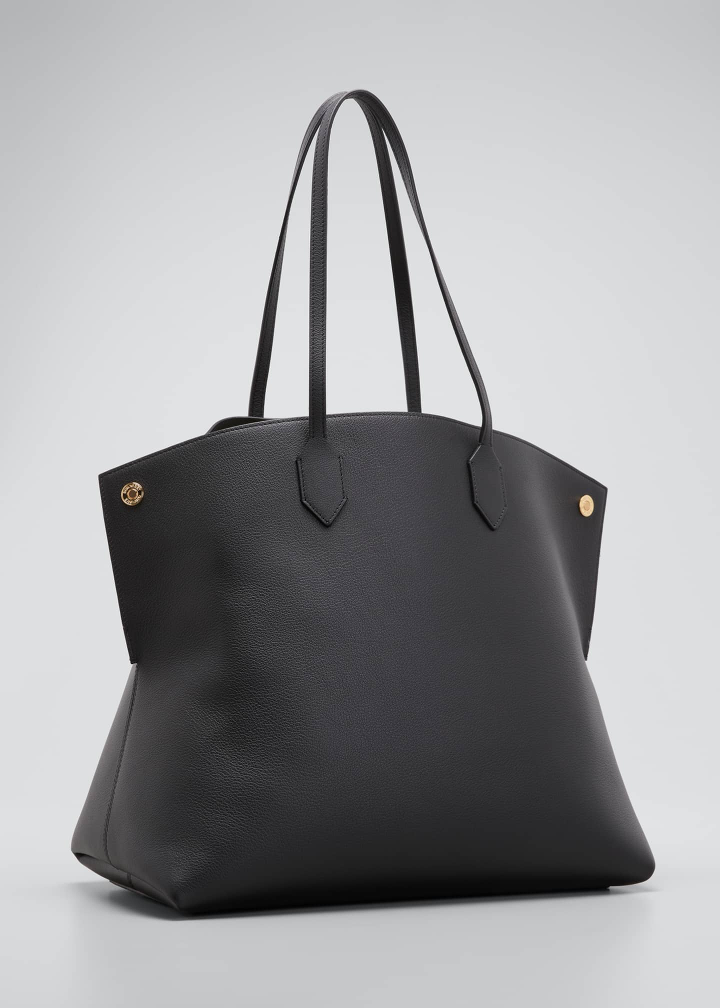 Image 3 of 5: Society Leather Tote Bag