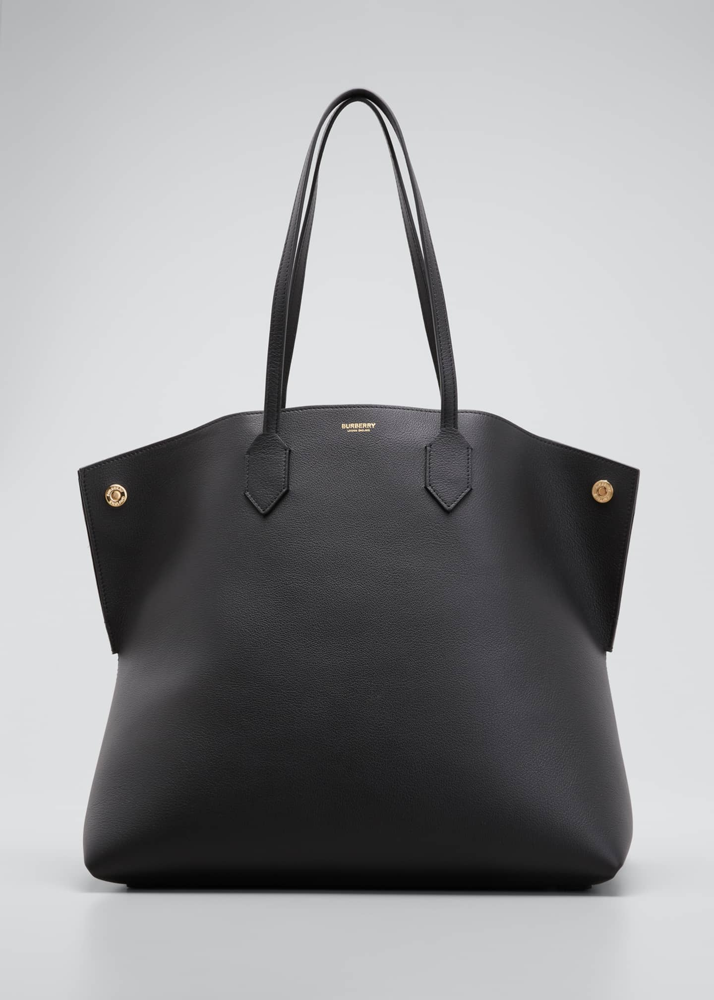 Image 1 of 5: Society Leather Tote Bag