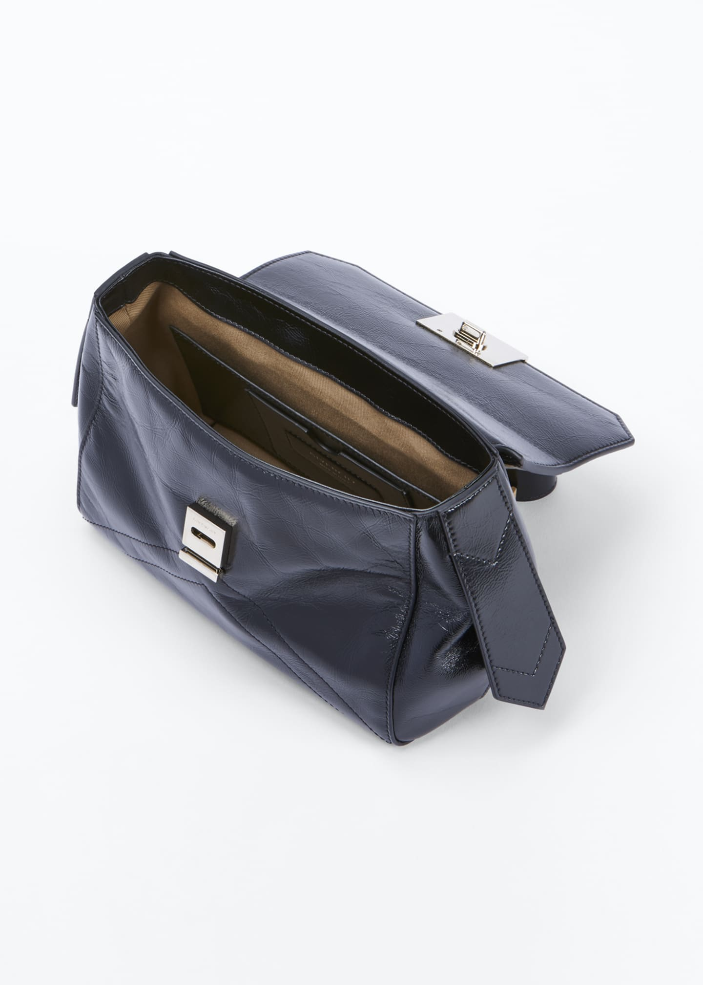 Image 4 of 5: ID Medium Creased Shoulder Bag